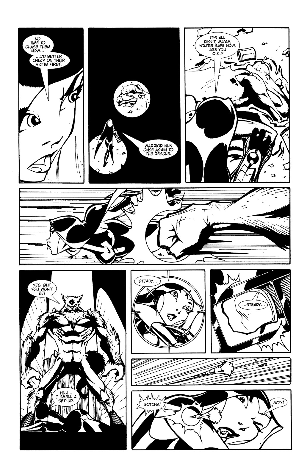 Warrior Nun Areala:  Dangerous Game Issue #1 #1 - English 15