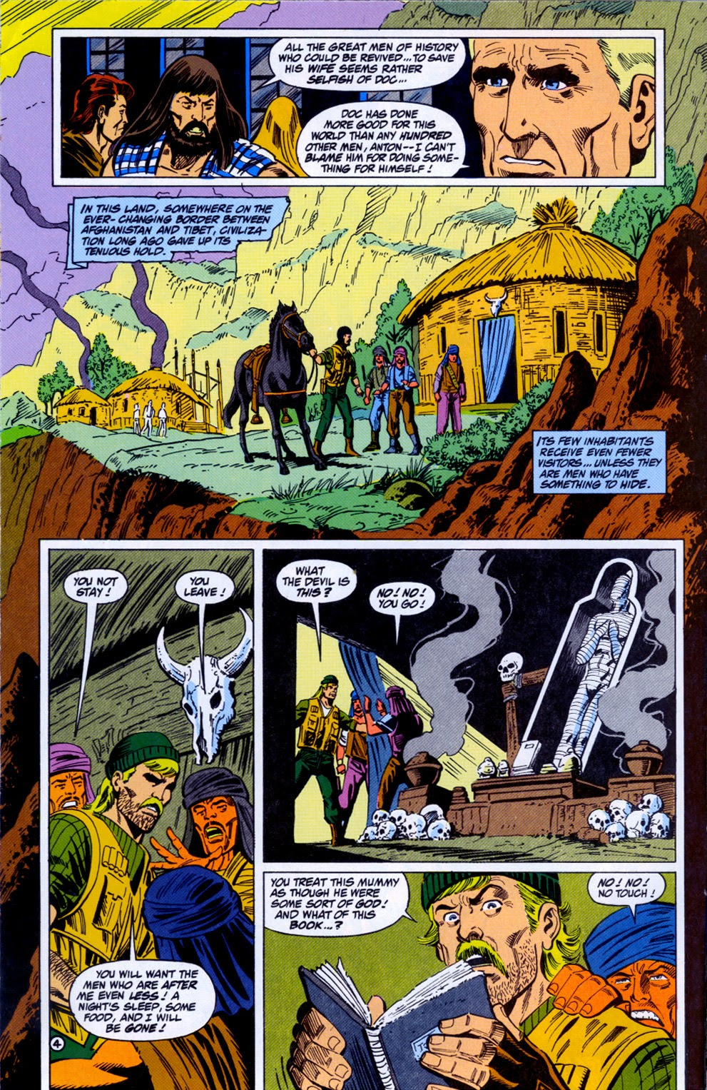 Doc Savage (1988) issue 11 - Page 6