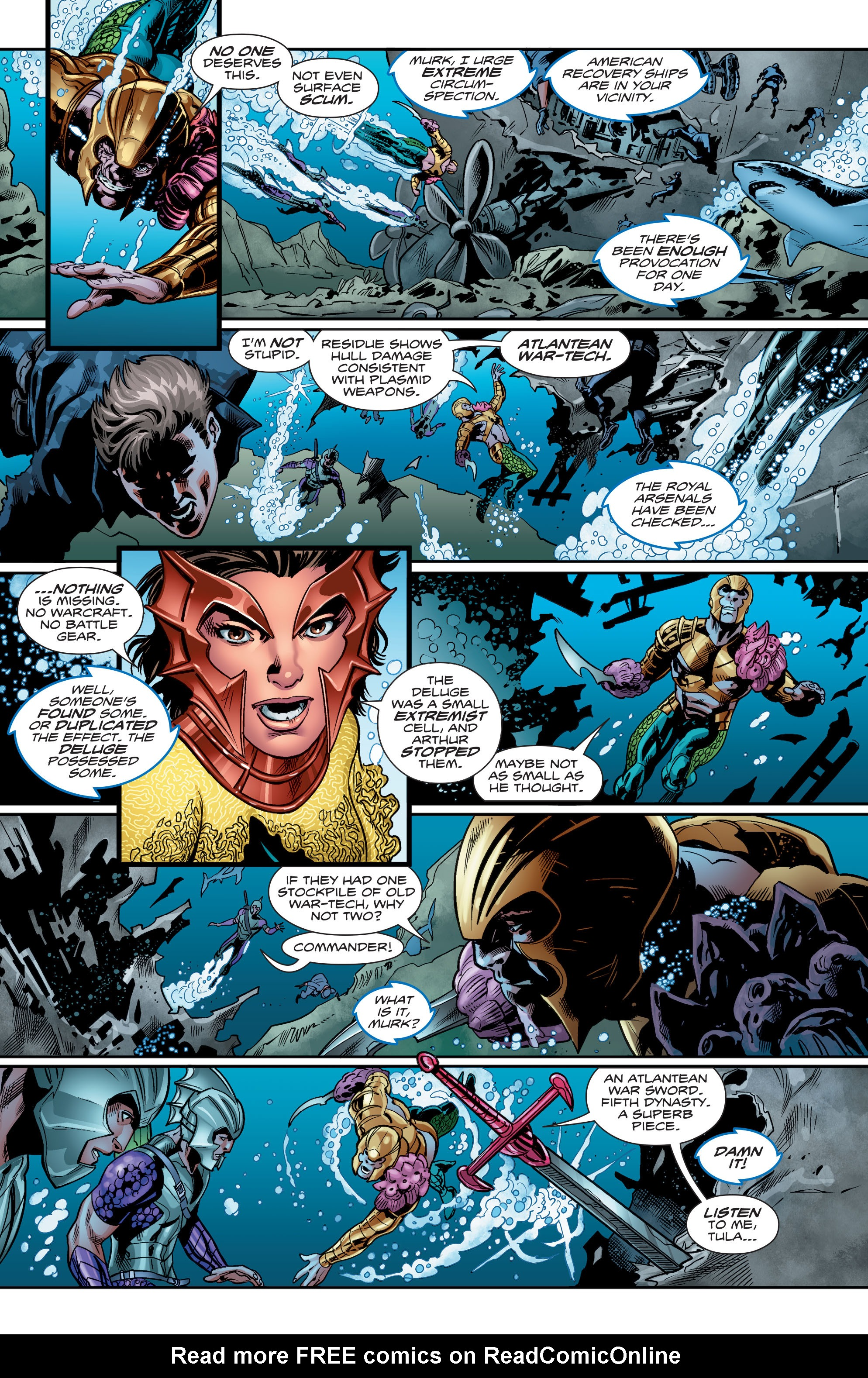 Read online Aquaman (2016) comic -  Issue #4 - 11
