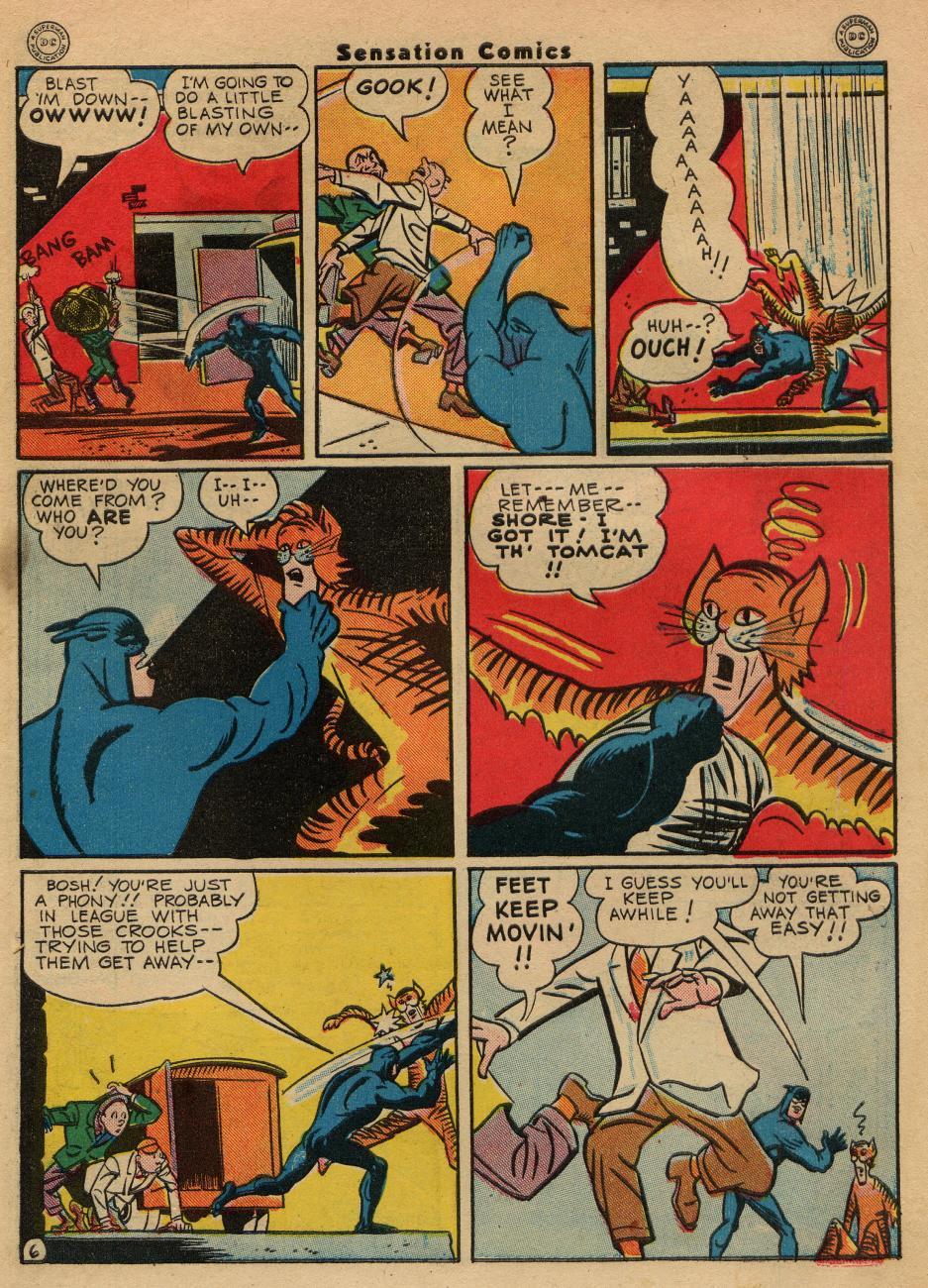 Read online Sensation (Mystery) Comics comic -  Issue #49 - 47