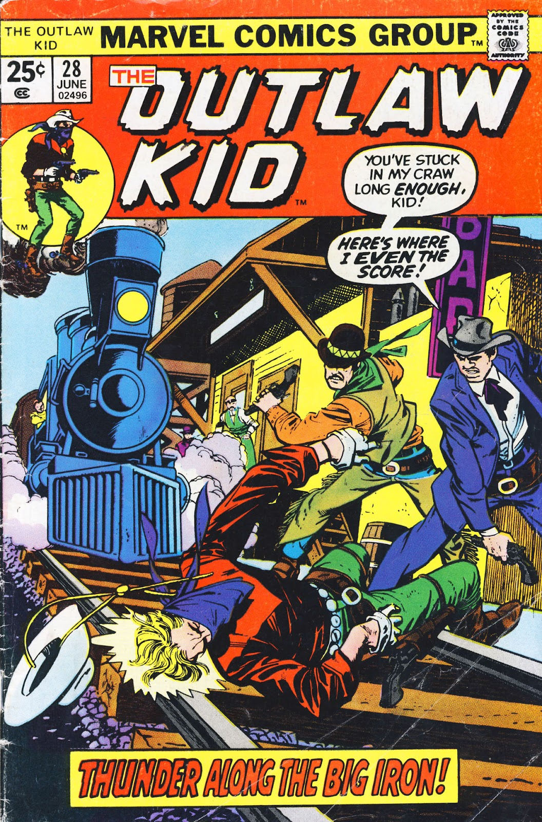 The Outlaw Kid (1970) issue 28 - Page 1