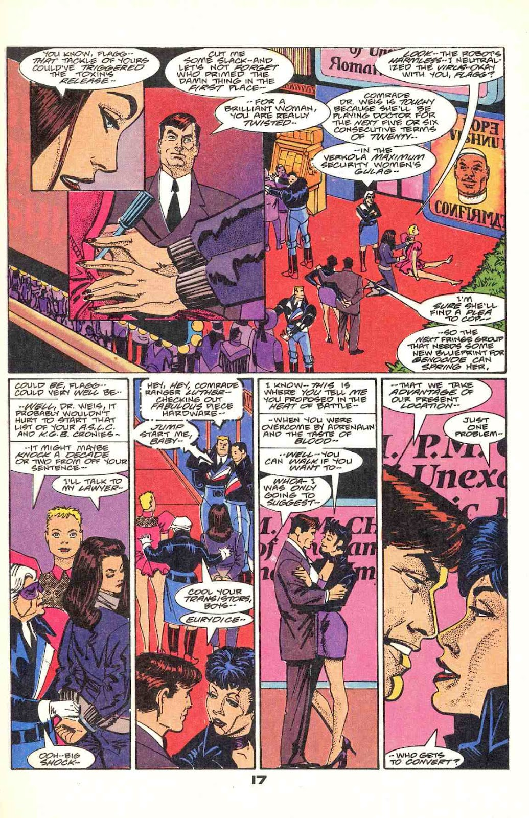 Howard Chaykin's American Flagg issue 12 - Page 21