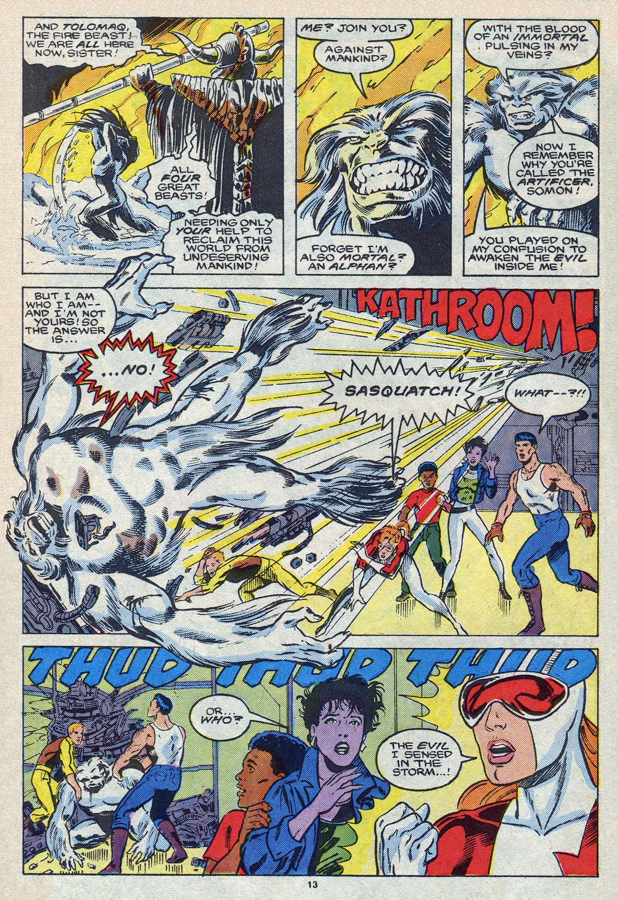 Read online Alpha Flight (1983) comic -  Issue #55 - 19