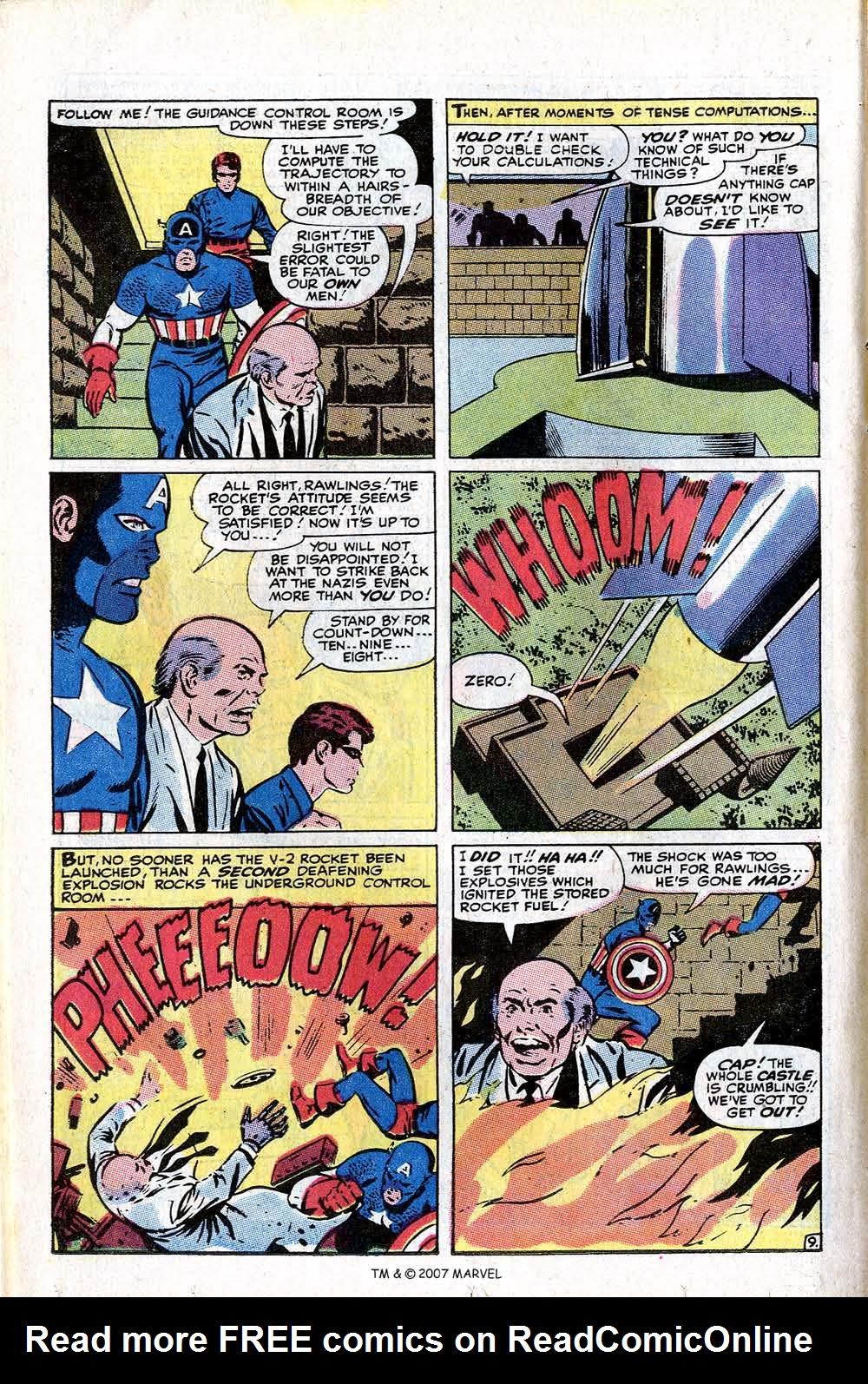 Read online Captain America (1968) comic -  Issue # _Annual 1 - 50