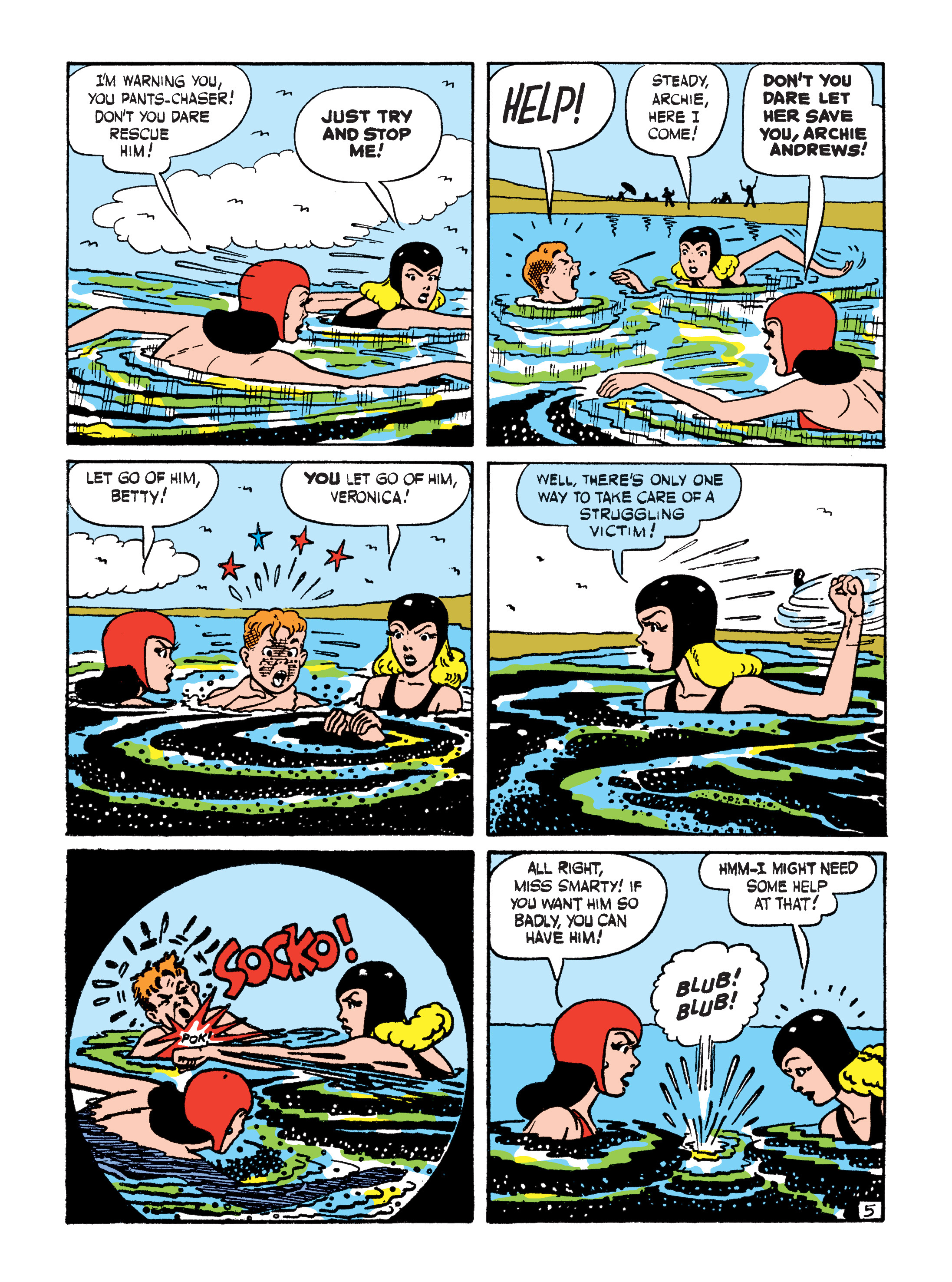 Read online Archie 75th Anniversary Digest comic -  Issue #4 - 137