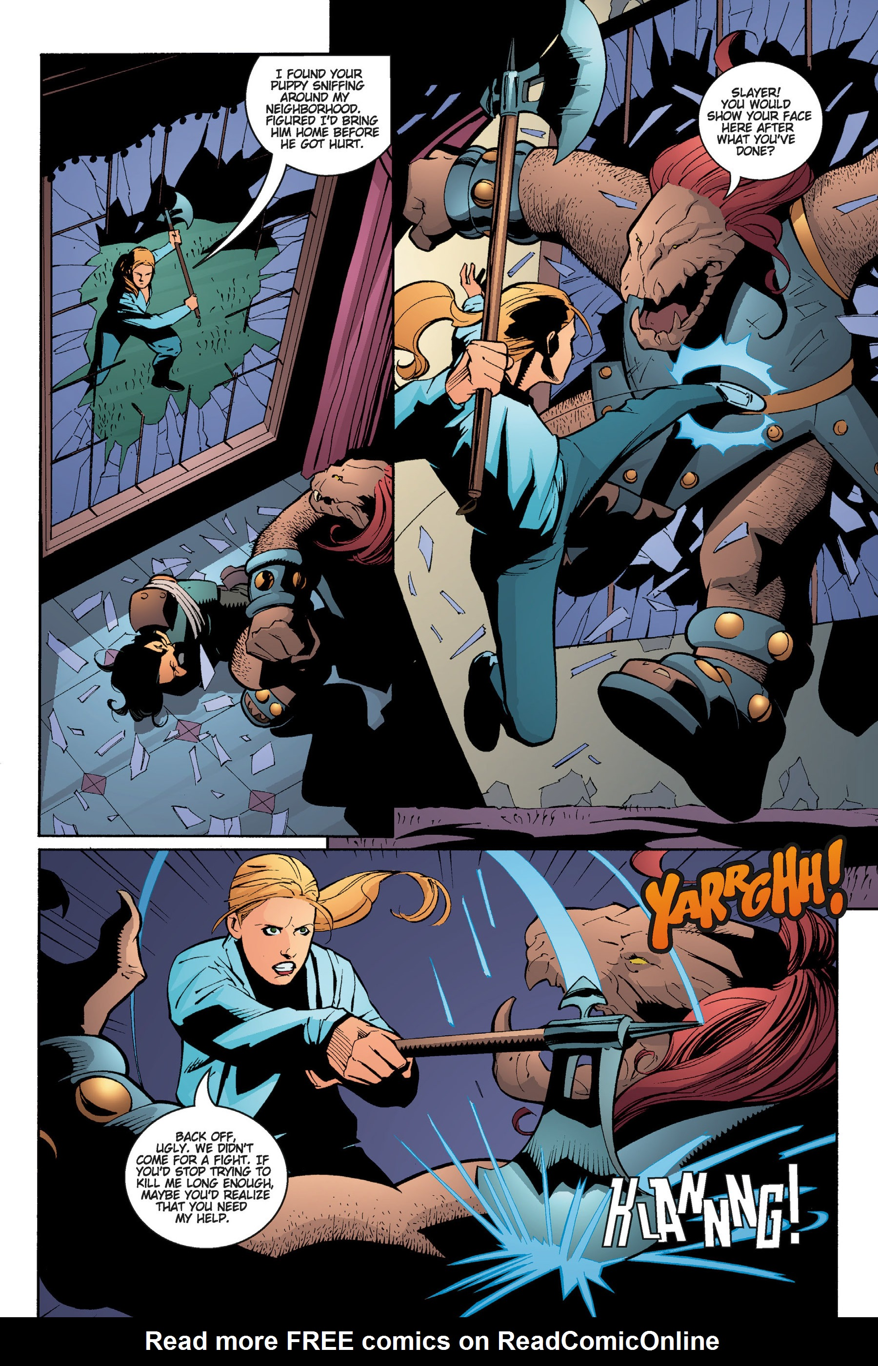 Read online Buffy the Vampire Slayer: Omnibus comic -  Issue # TPB 5 - 192