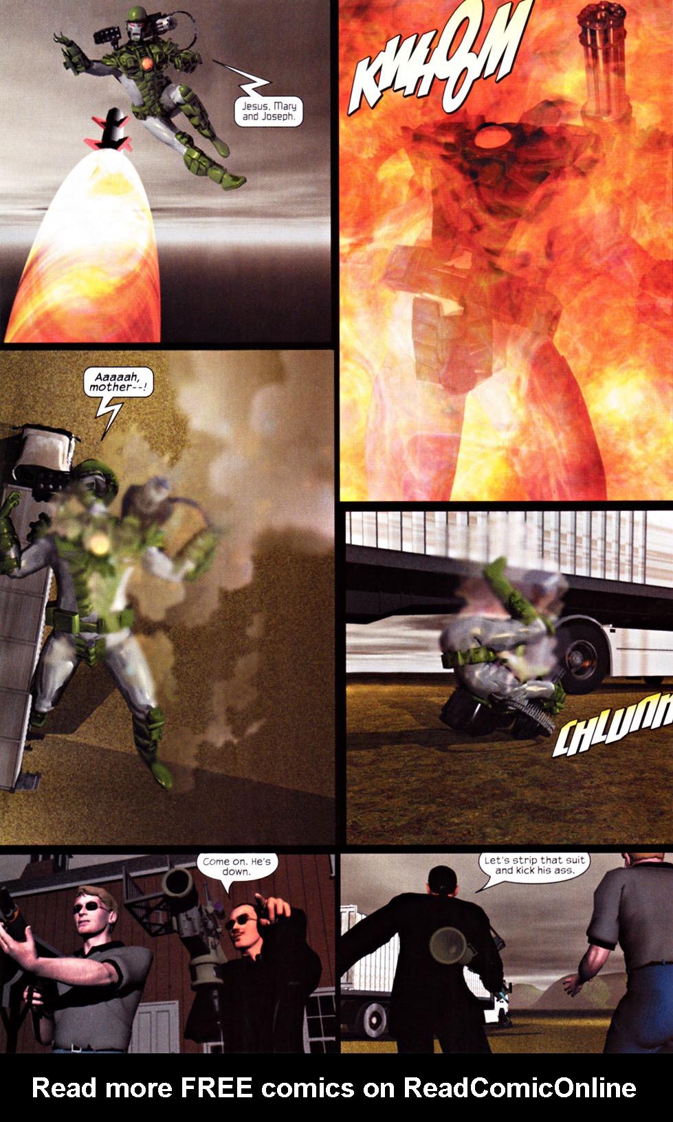 Read online U.S. War Machine 2.0 comic -  Issue #1 - 18