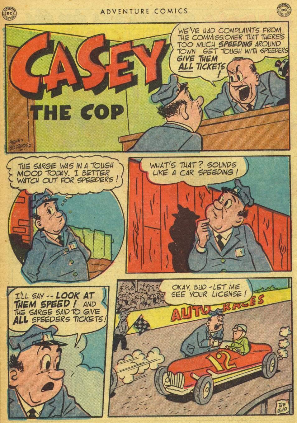 Read online Adventure Comics (1938) comic -  Issue #162 - 38