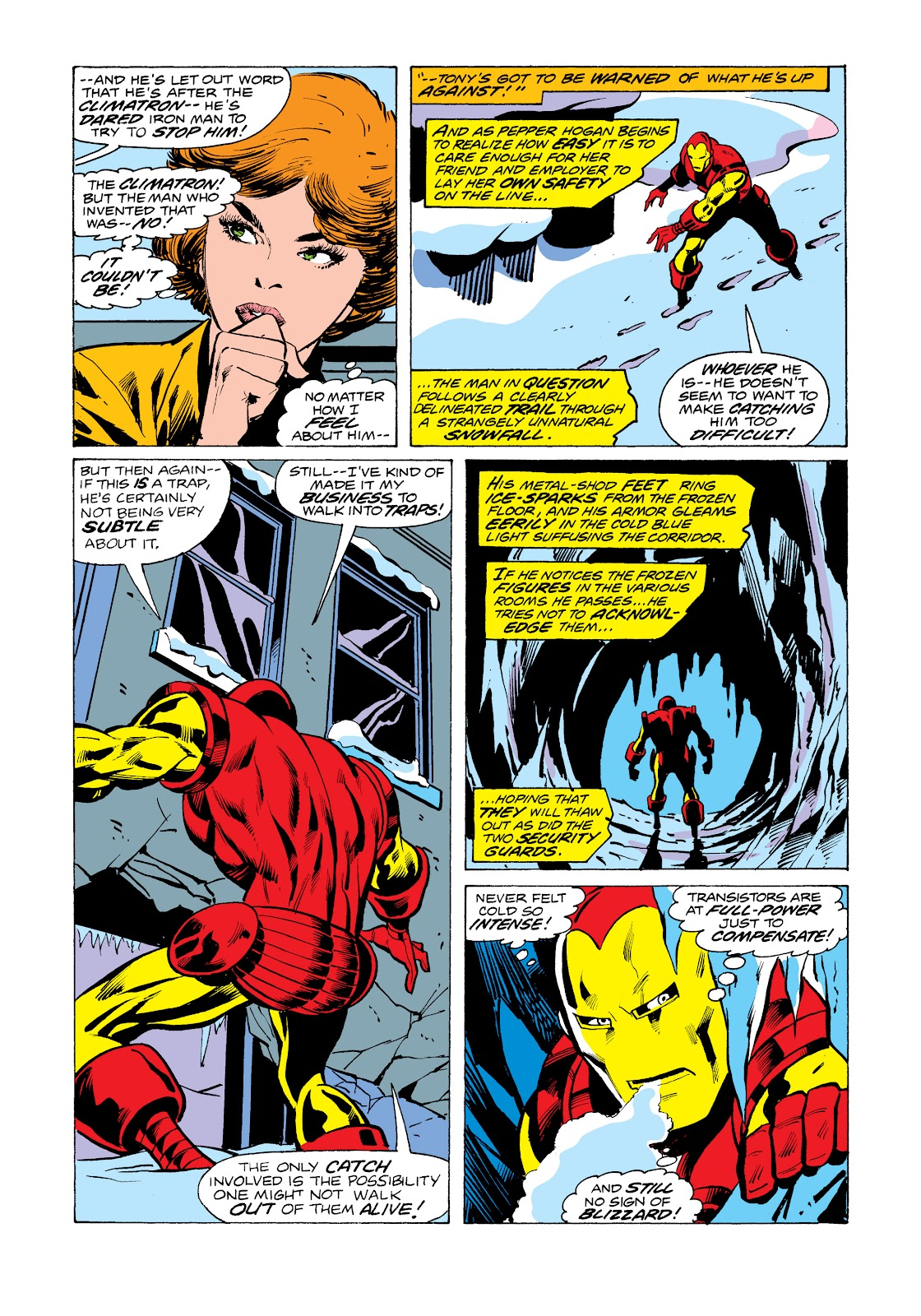 Read online Marvel Masterworks: The Invincible Iron Man comic -  Issue # TPB 11 (Part 1) - 94
