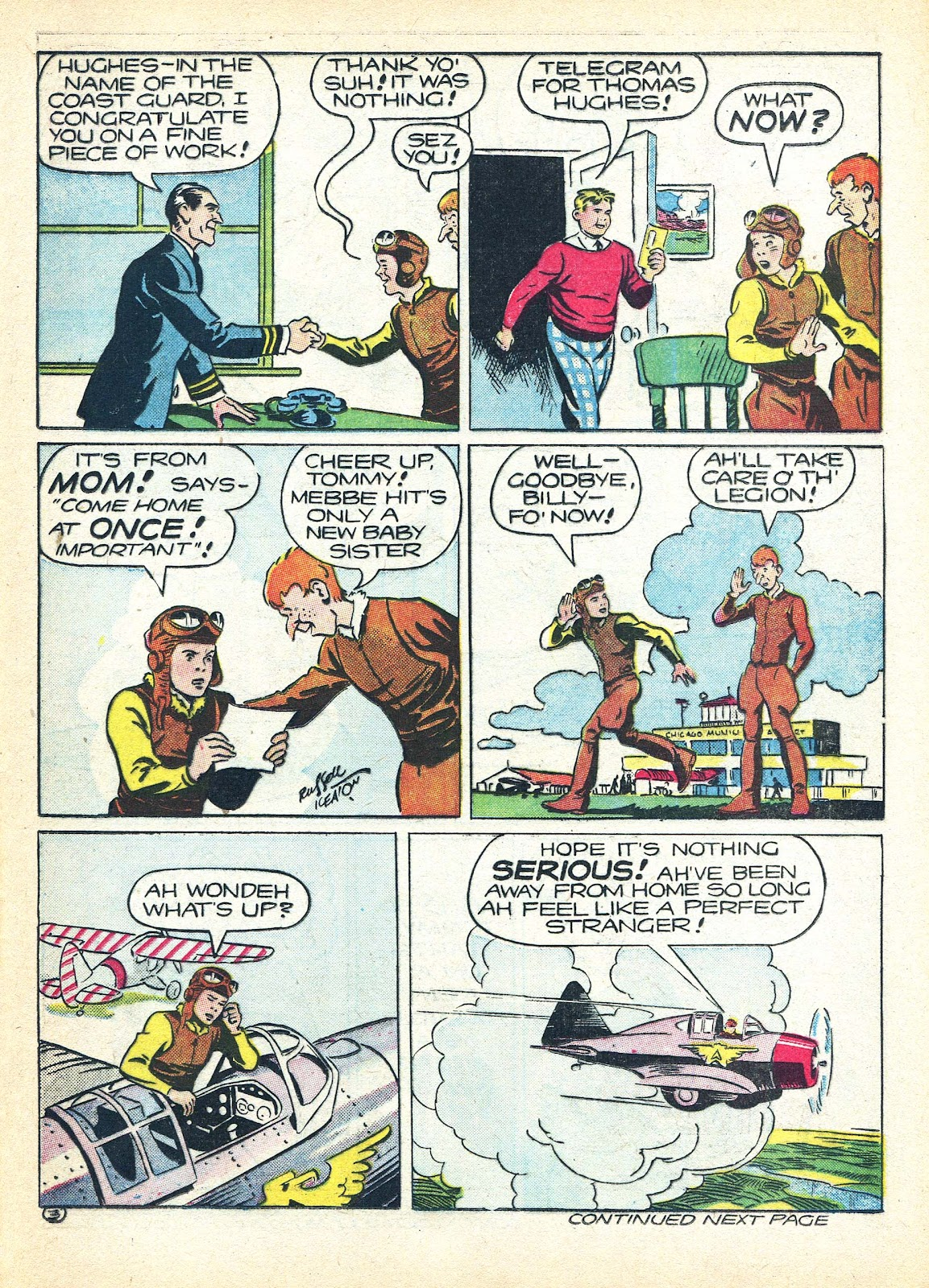 Read online Famous Funnies comic -  Issue #95 - 48
