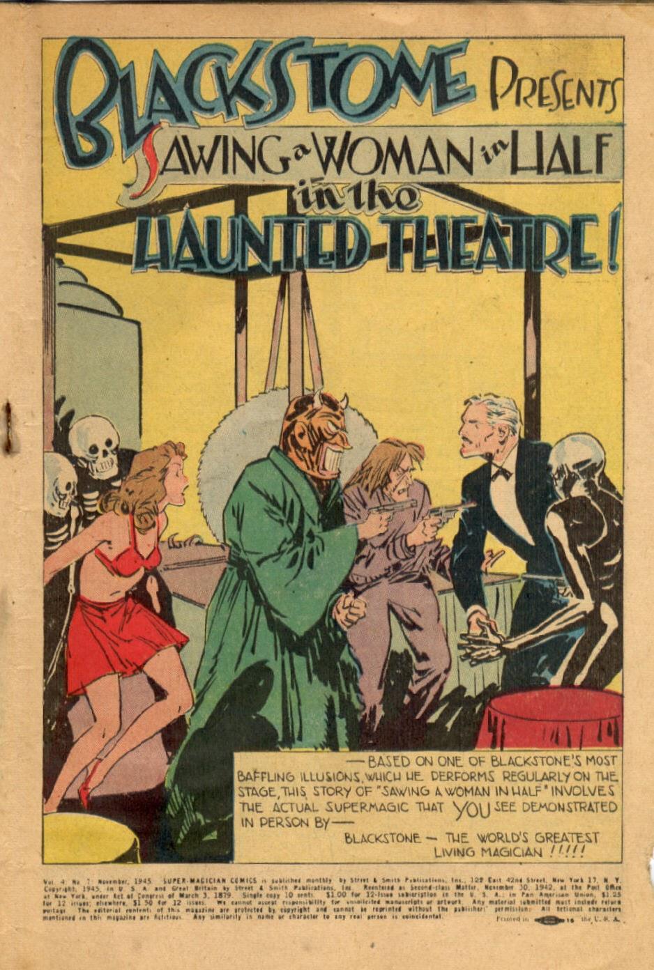 Read online Super-Magician Comics comic -  Issue #43 - 3