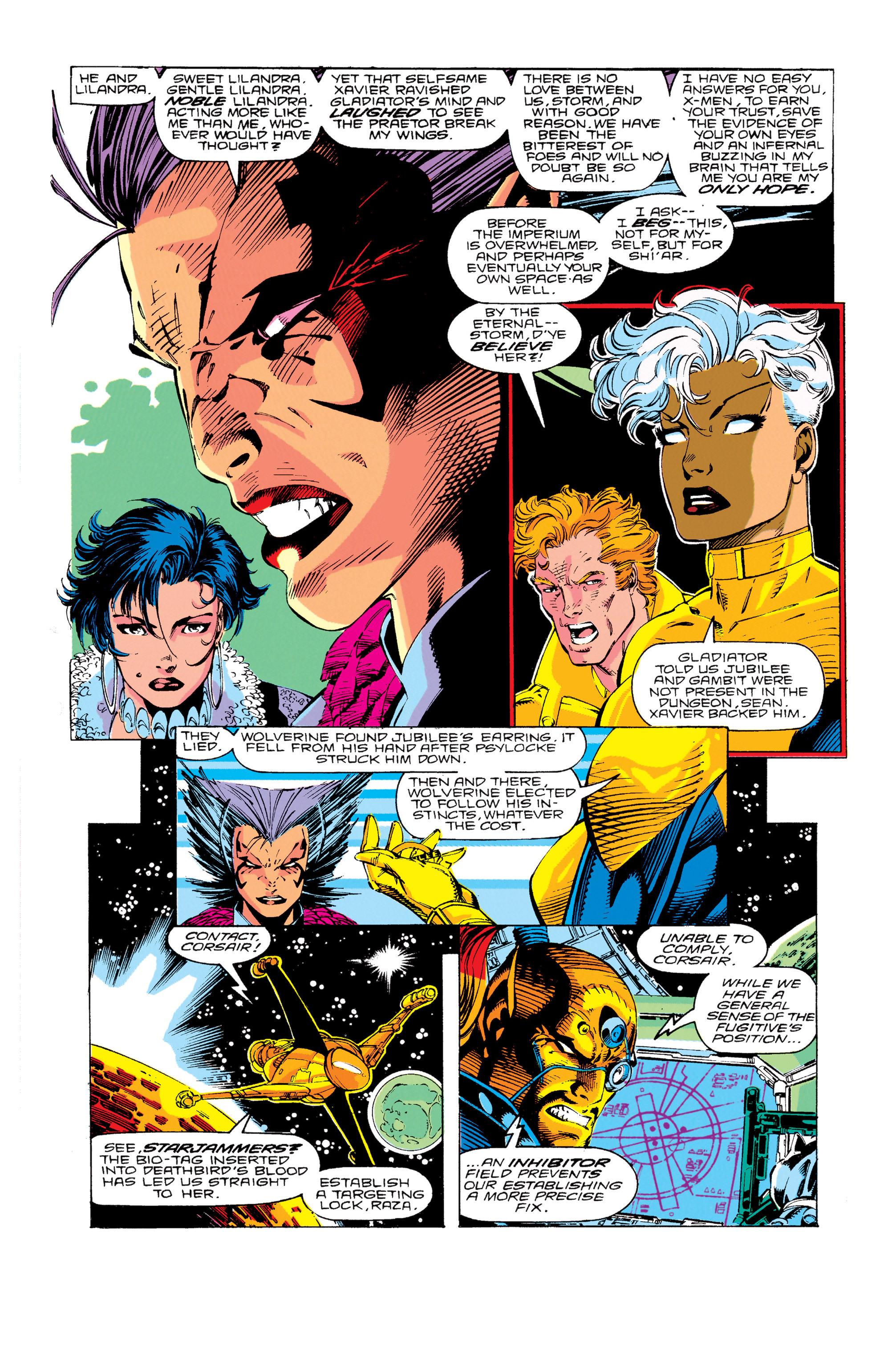 Read online Uncanny X-Men (1963) comic -  Issue #276 - 18