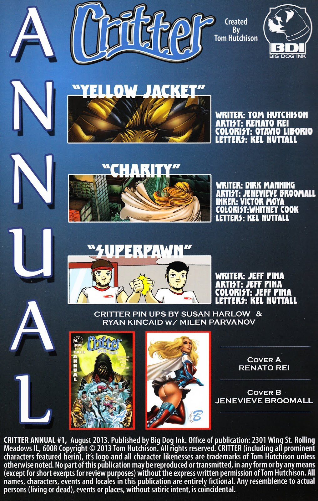 Read online Critter (2012) comic -  Issue # Annual 1 - 2