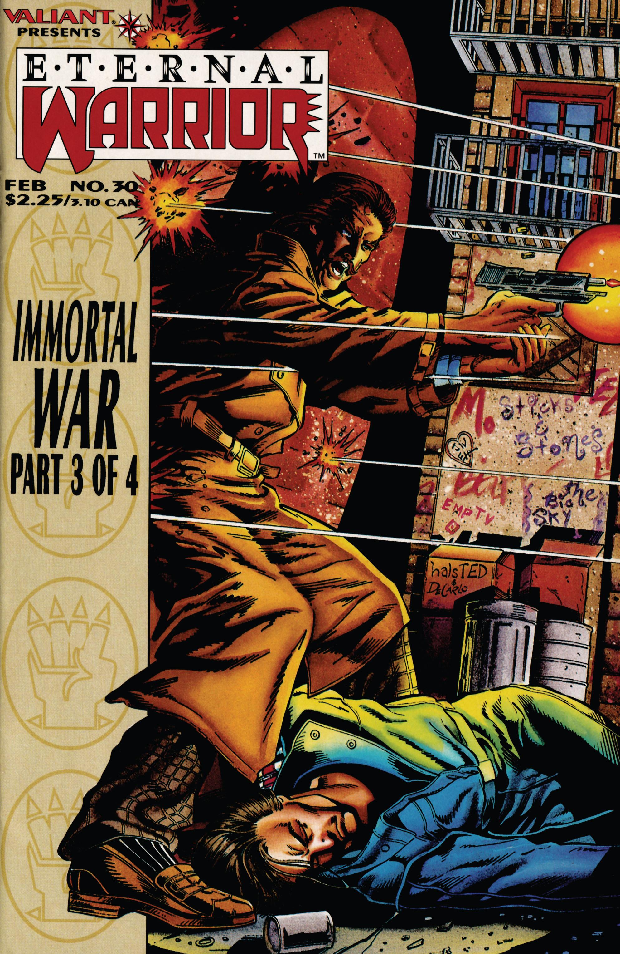 Read online Eternal Warrior (1992) comic -  Issue #30 - 1