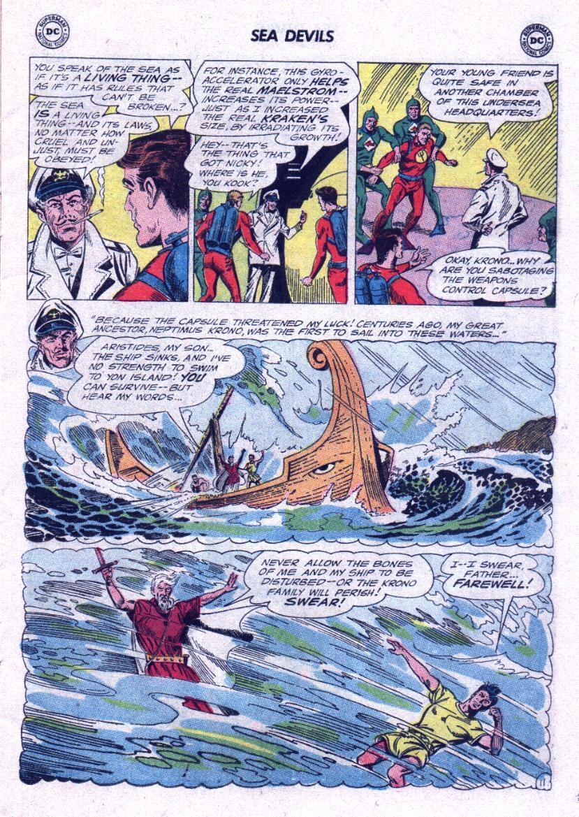 Read online Sea Devils comic -  Issue #23 - 15