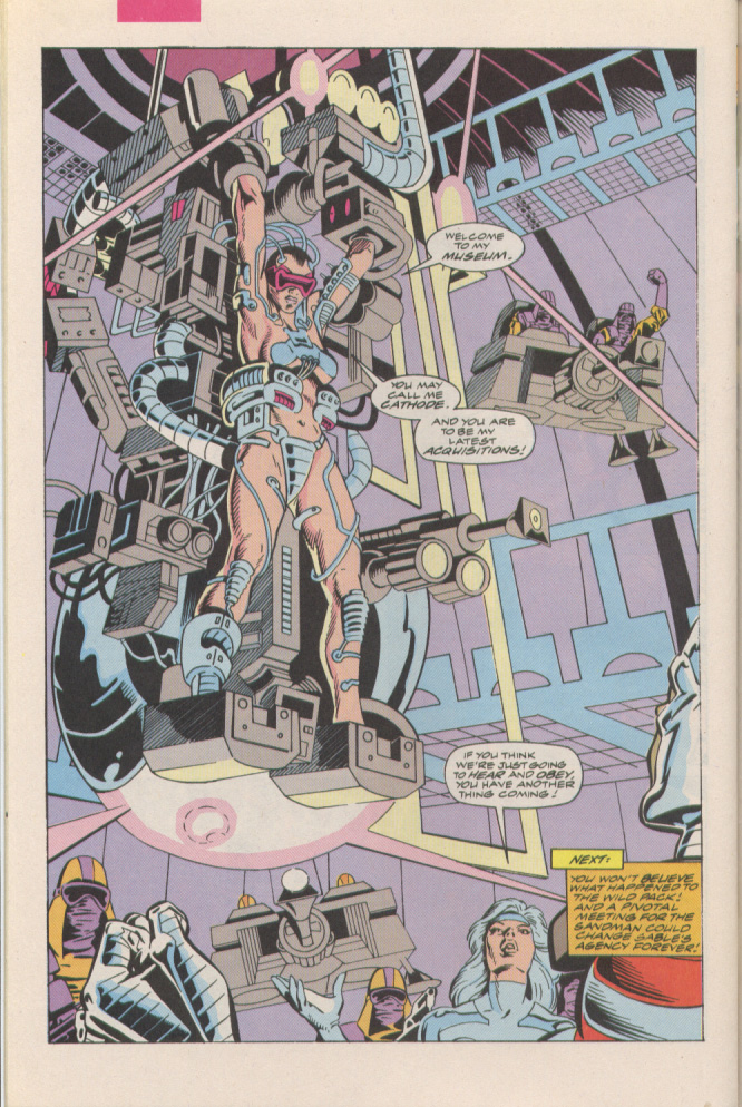 Read online Silver Sable and the Wild Pack comic -  Issue #6 - 23