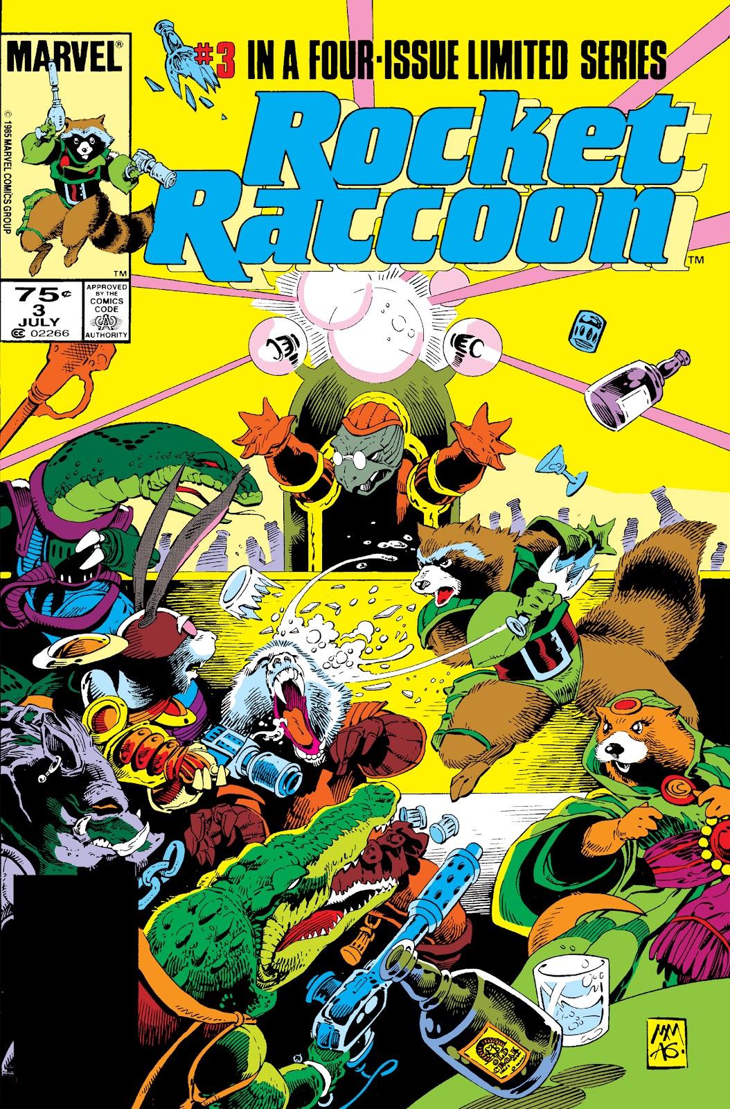 Rocket Raccoon (1985) 3 Page 1