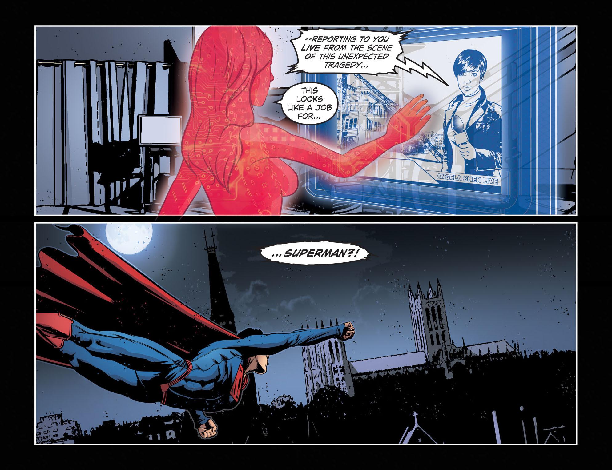 Read online Smallville: Season 11 comic -  Issue #55 - 11