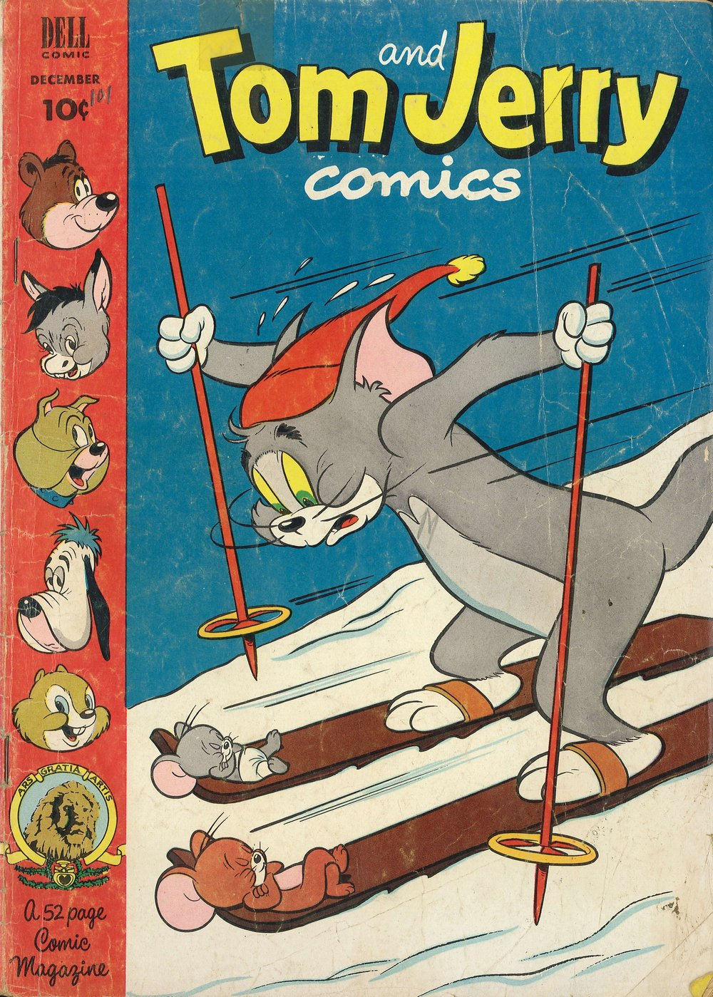 Tom & Jerry Comics issue 101 - Page 1