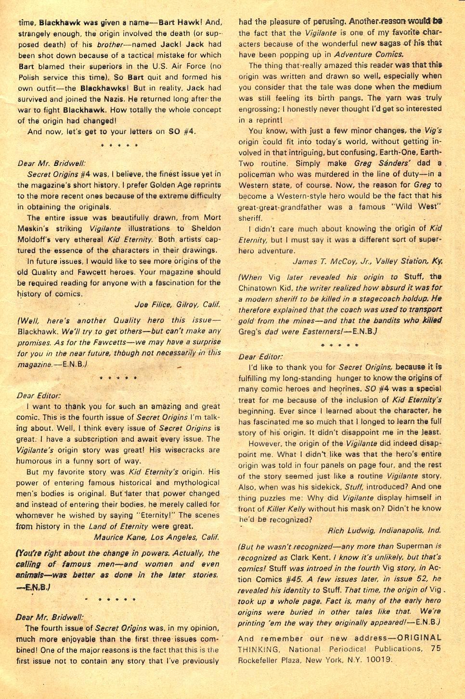 Read online Secret Origins (1973) comic -  Issue #6 - 33