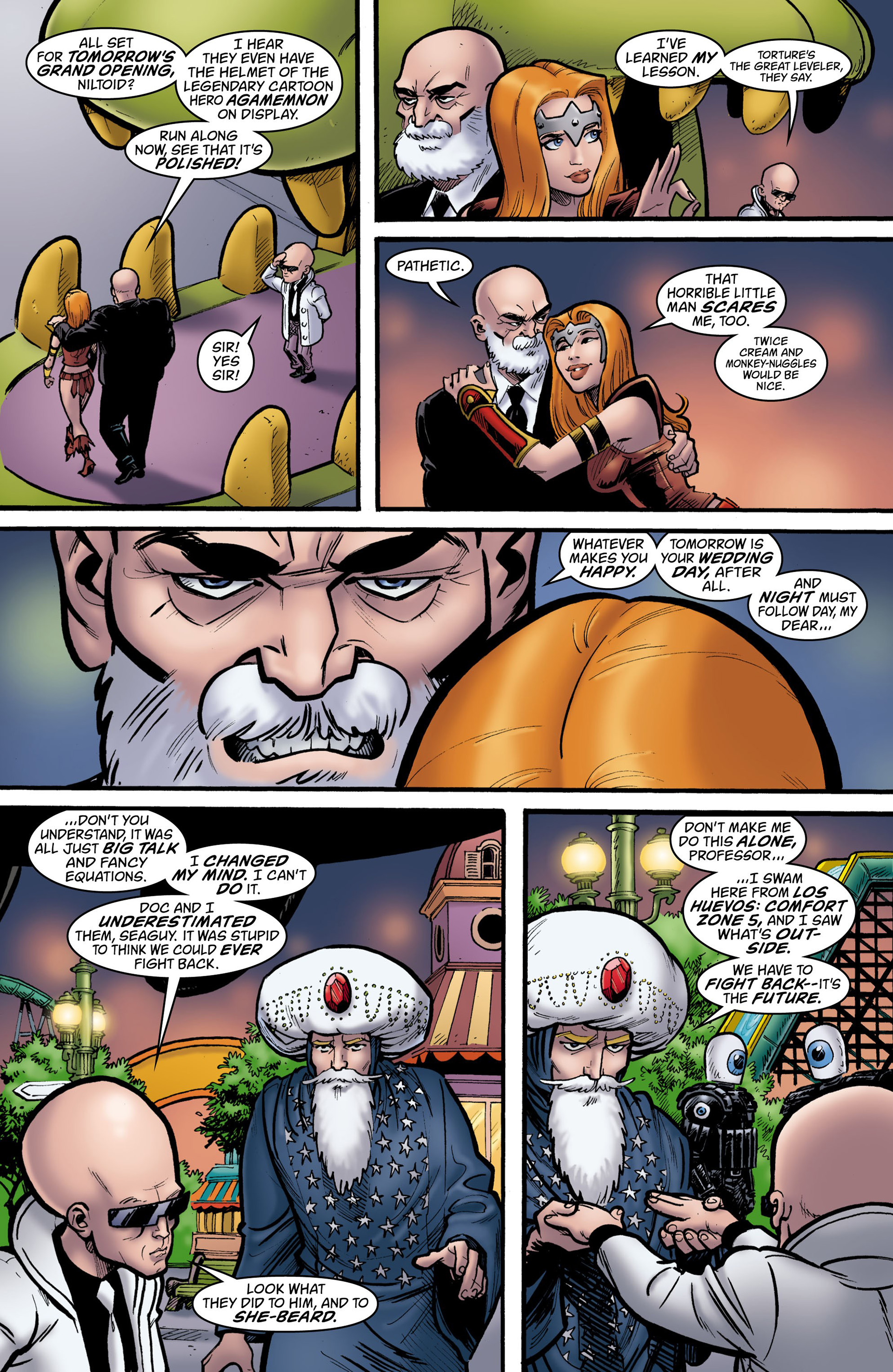 Read online Seaguy: The Slaves of Mickey Eye comic -  Issue #3 - 14