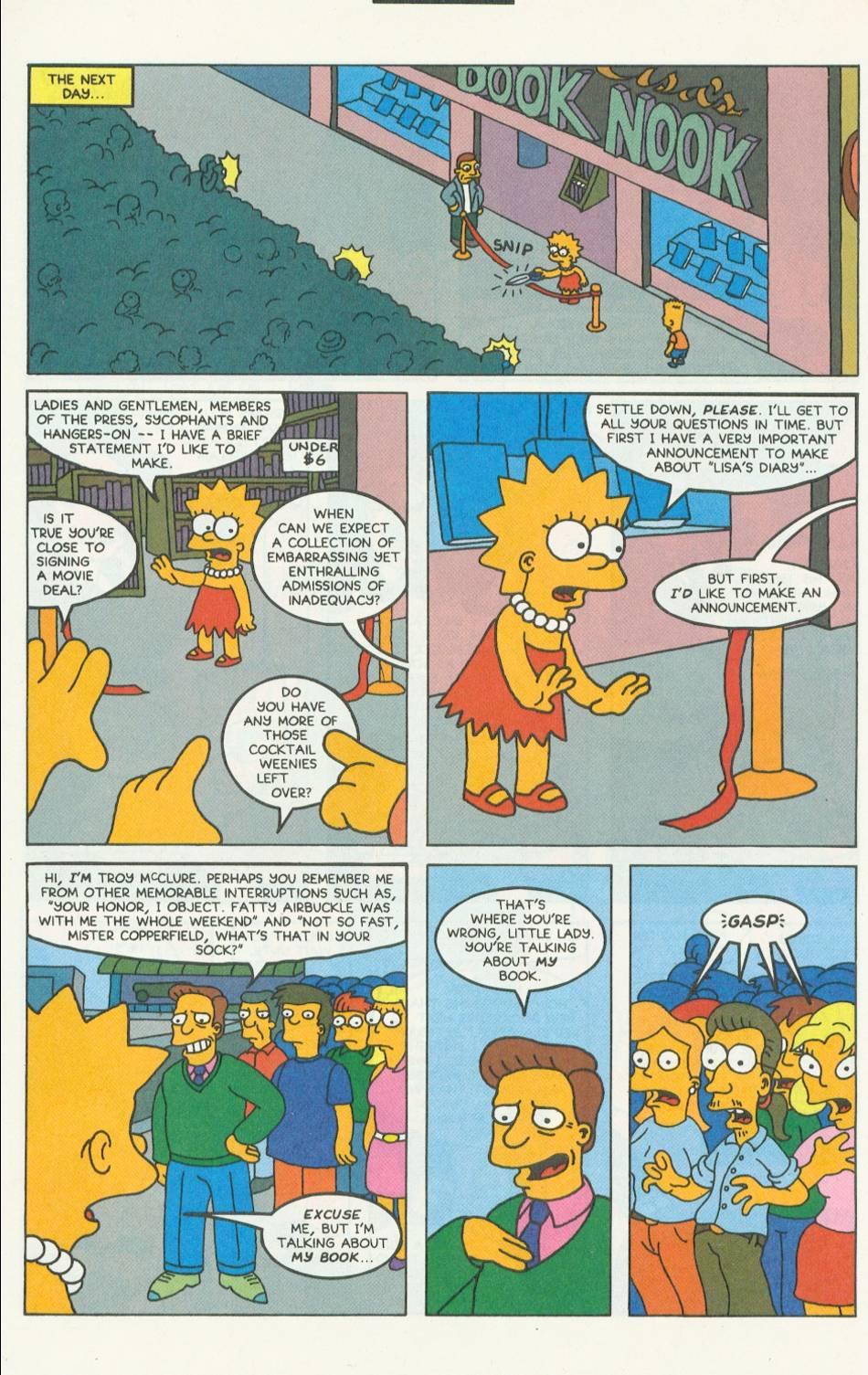 Read online Simpsons Comics comic -  Issue #9 - 17