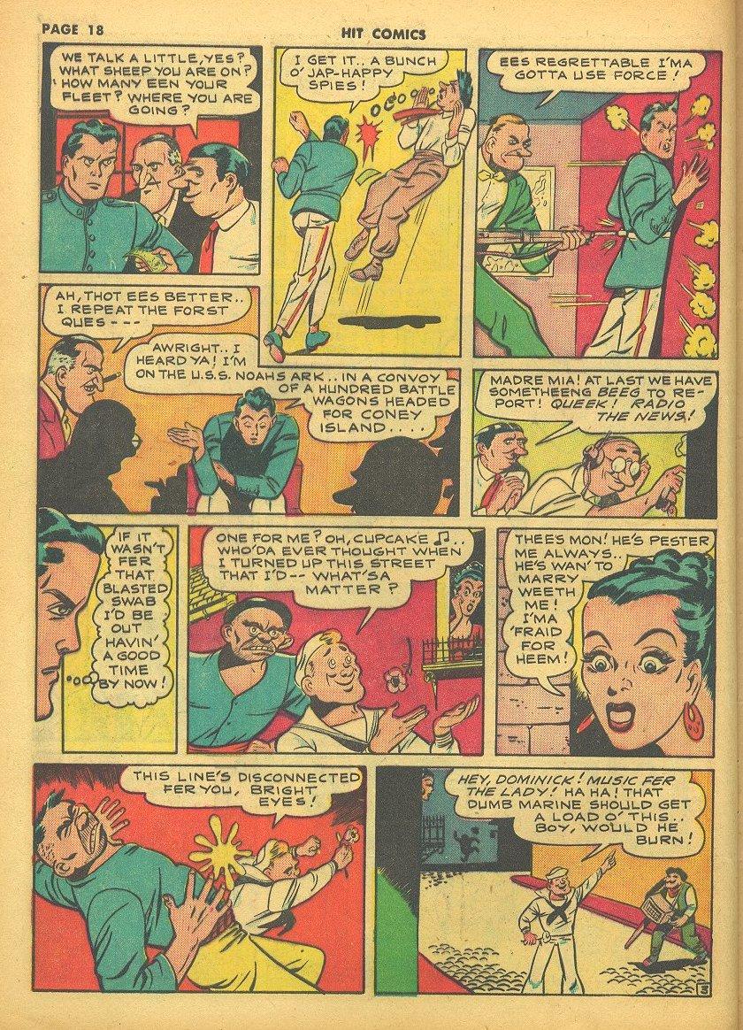 Read online Hit Comics comic -  Issue #24 - 20