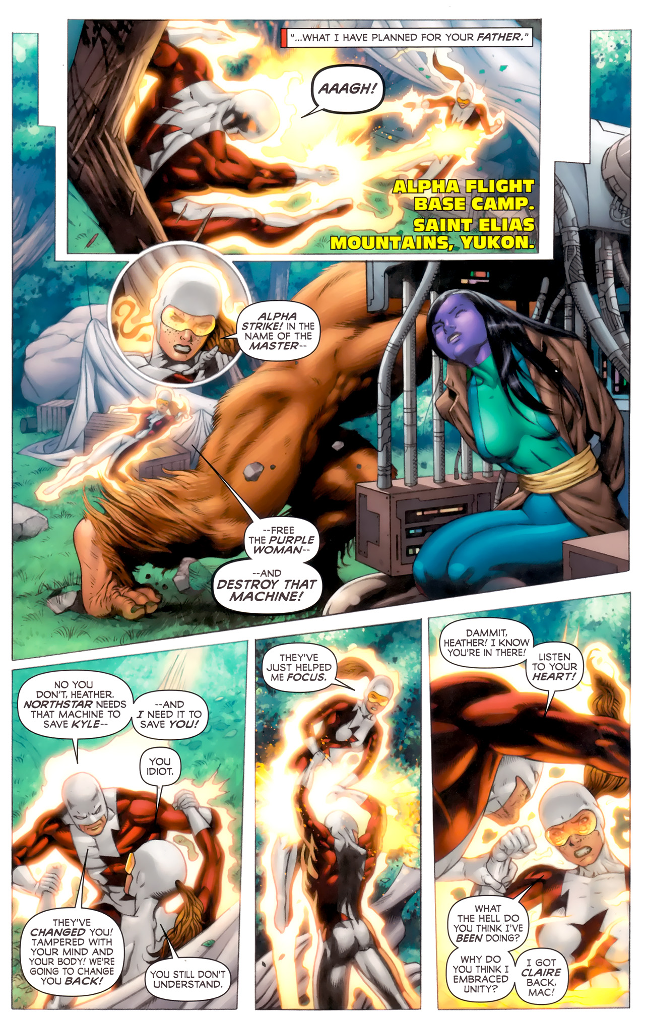 Read online Alpha Flight (2011) comic -  Issue #8 - 6