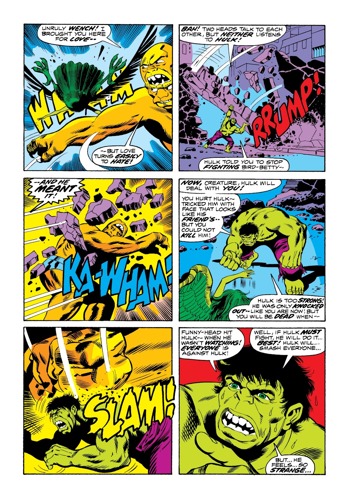 Read online Marvel Masterworks: The Incredible Hulk comic -  Issue # TPB 9 (Part 3) - 66