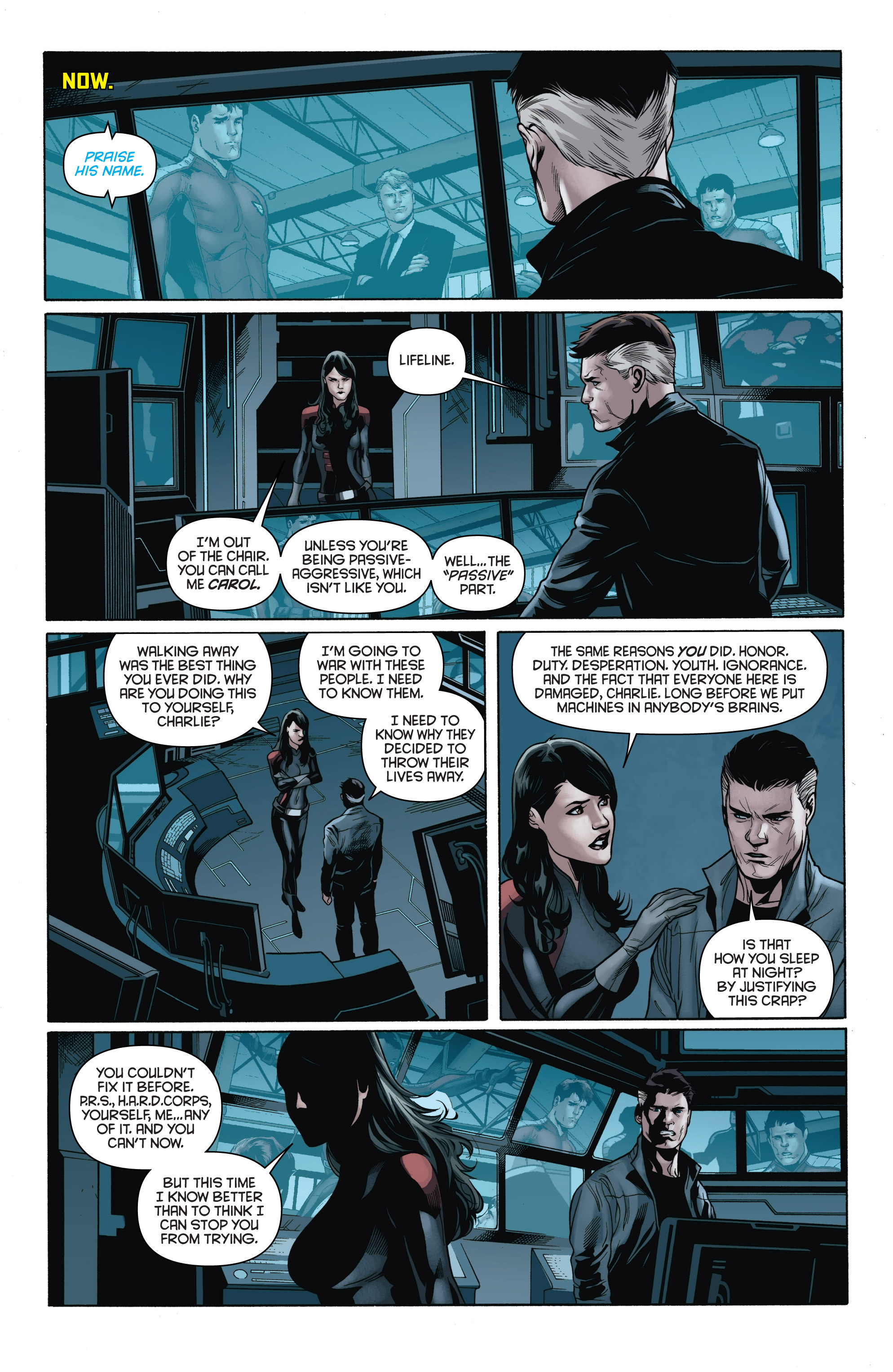 Read online Bloodshot and H.A.R.D.Corps comic -  Issue # TPB 4 - 20