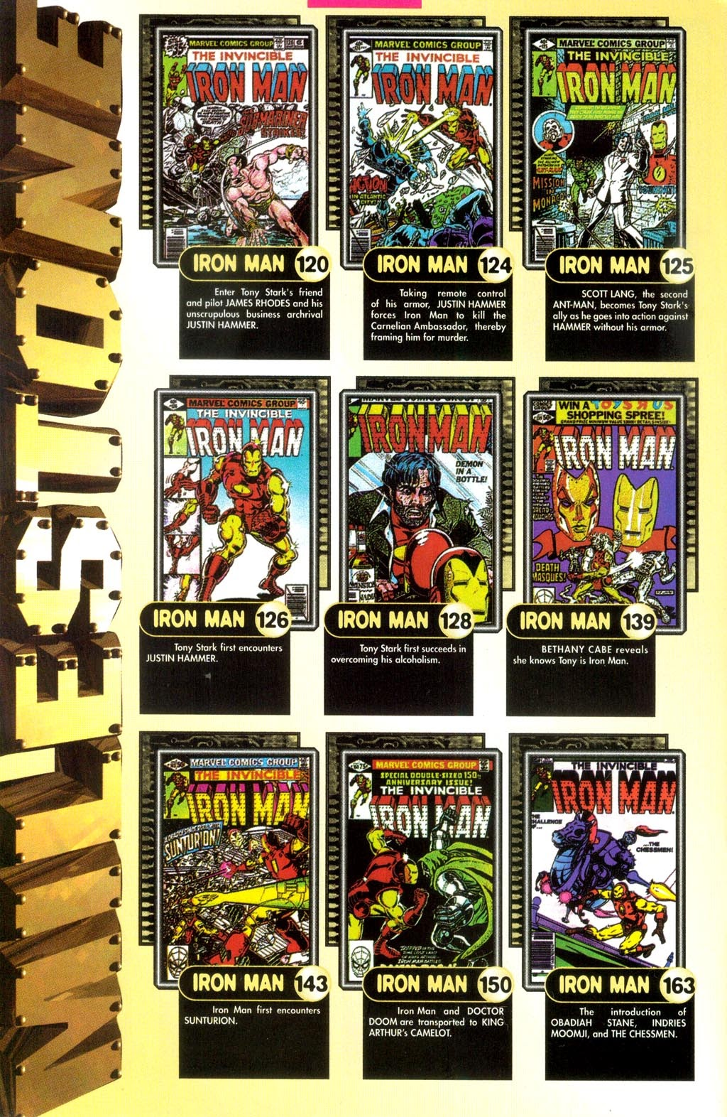 Read online Iron Man: The Legend comic -  Issue # Full - 10