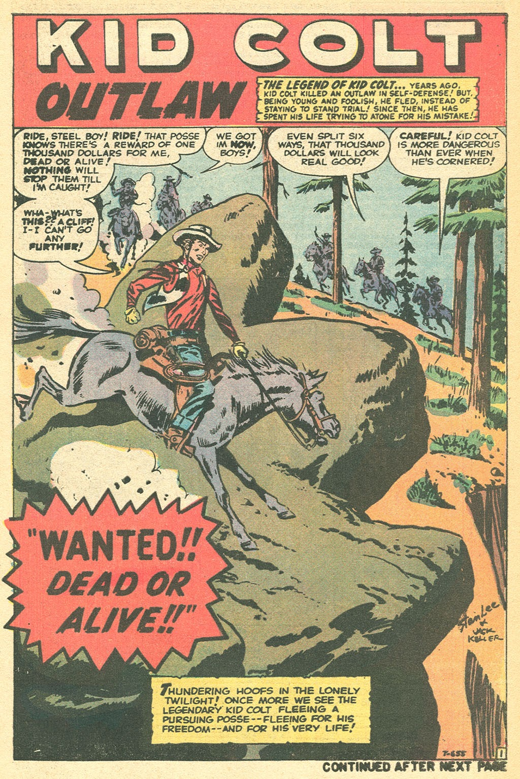 Kid Colt Outlaw issue 152 - Page 9