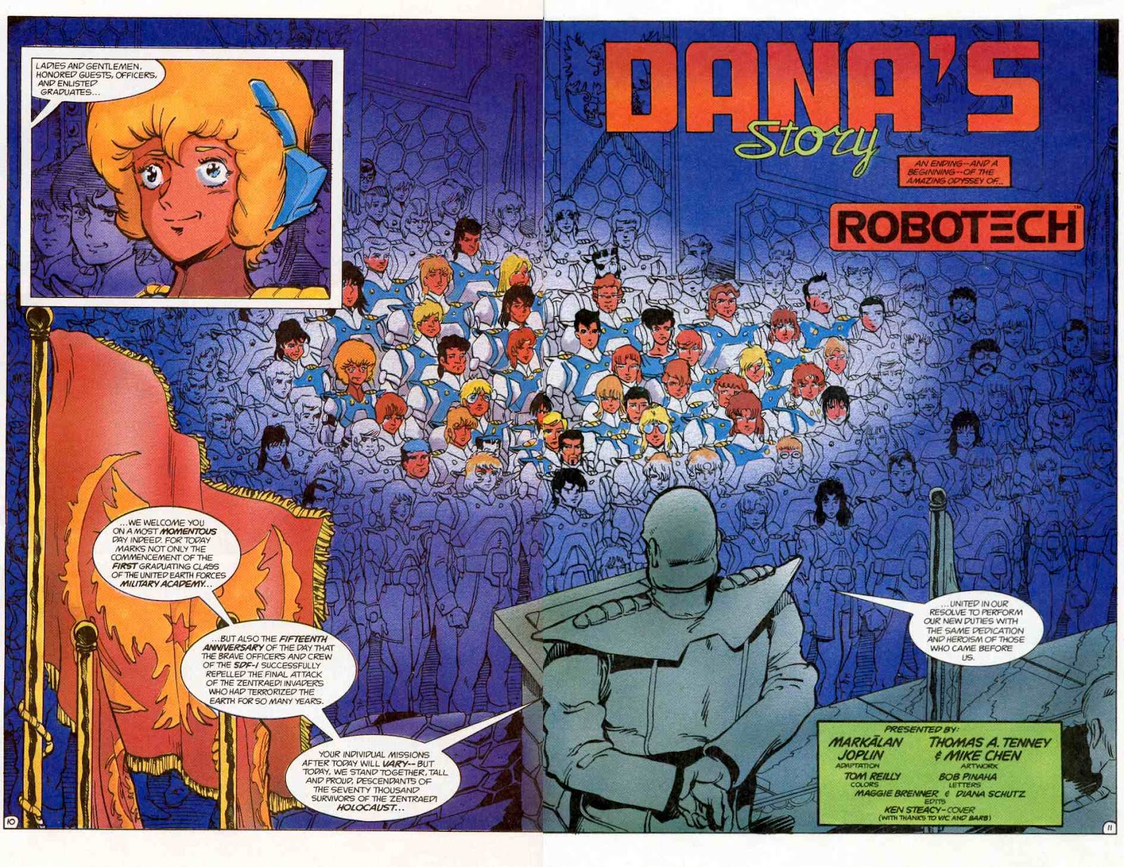 Robotech Special issue Full - Page 12