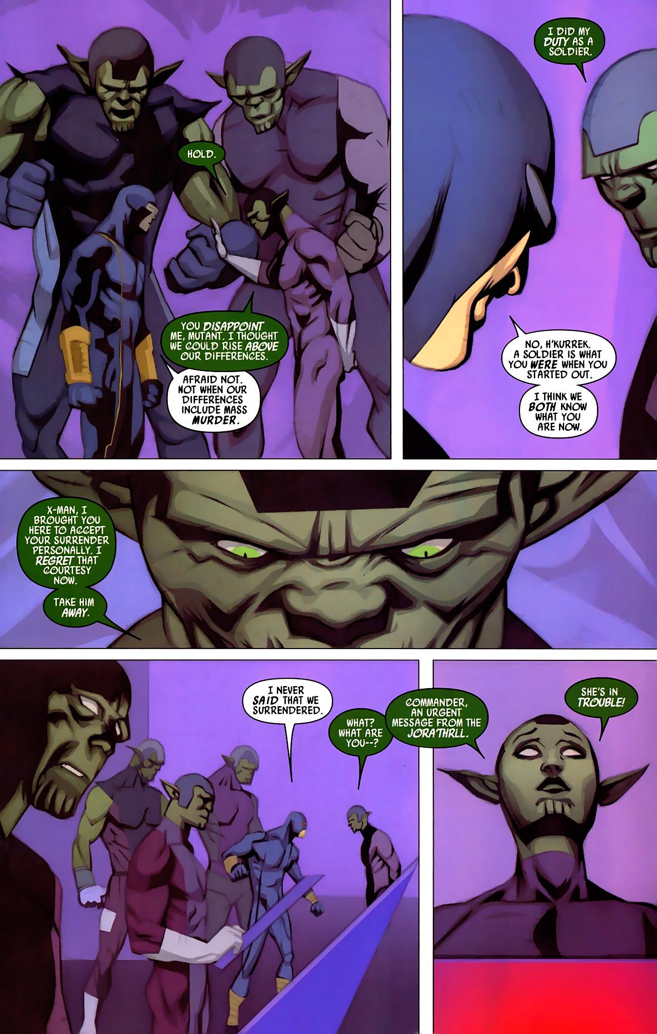 Read online Secret Invasion: X-Men comic -  Issue #4 - 15