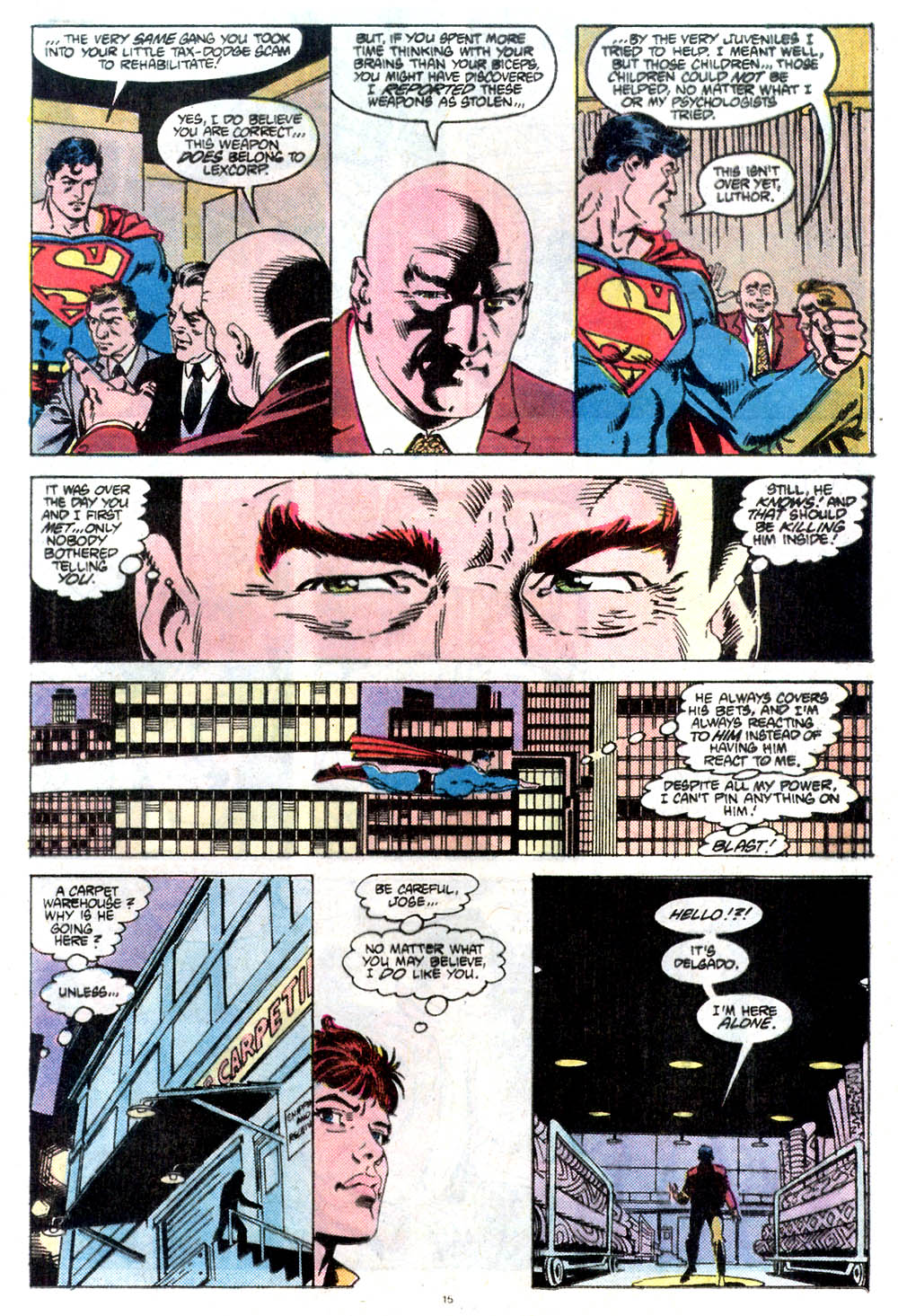 Read online Adventures of Superman (1987) comic -  Issue #432 - 16