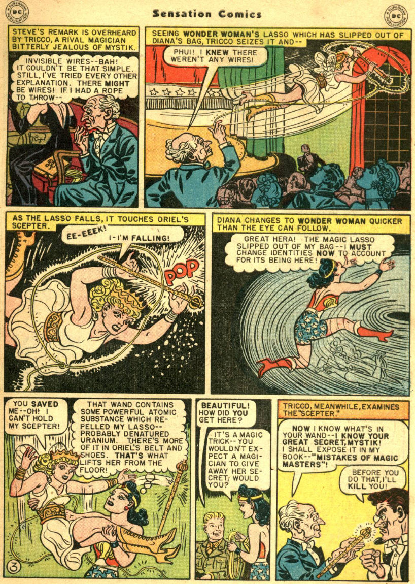 Read online Sensation (Mystery) Comics comic -  Issue #69 - 7