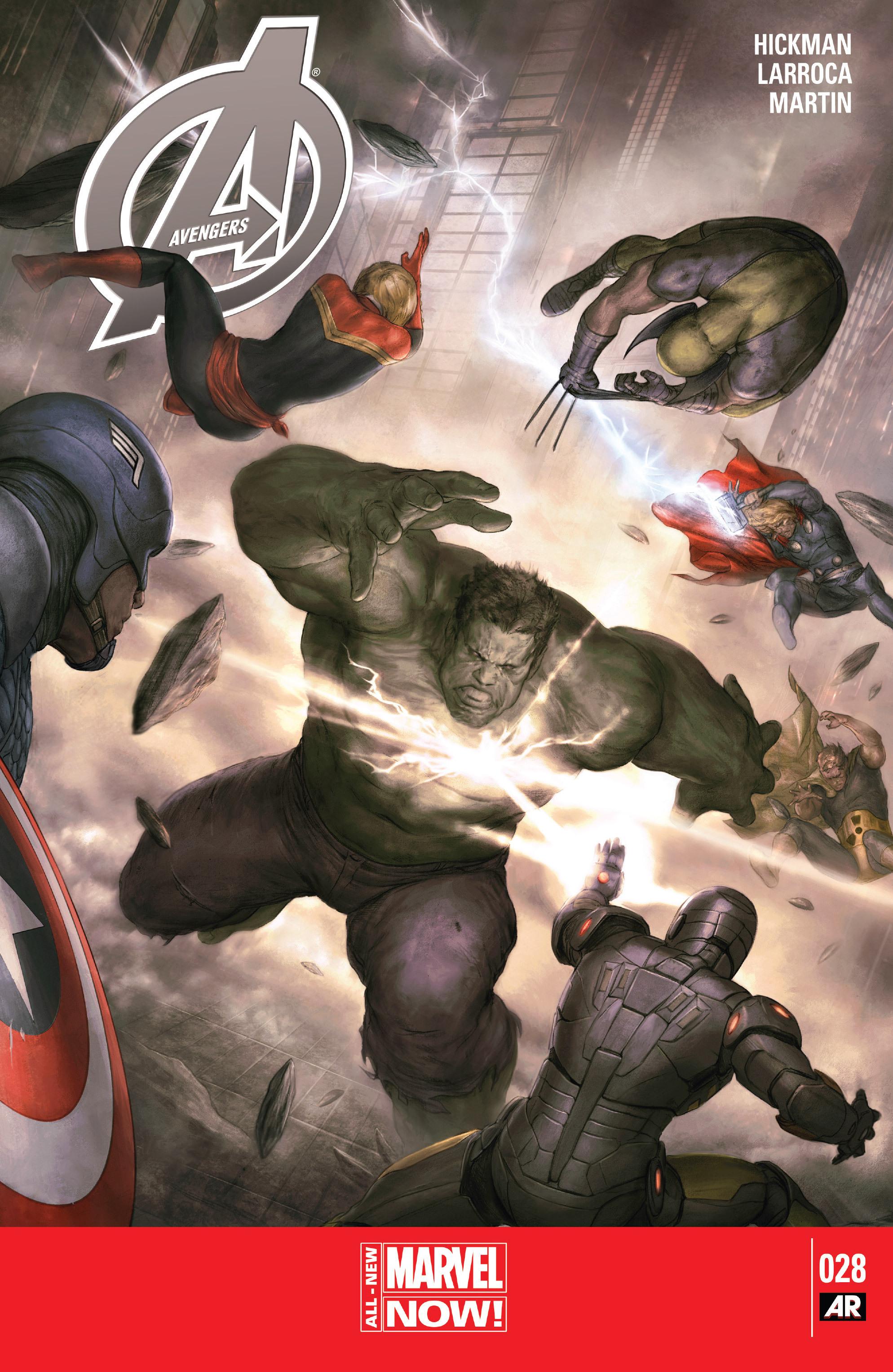 Read online Avengers (2013) comic -  Issue #Avengers (2013) _TPB 5 - 132
