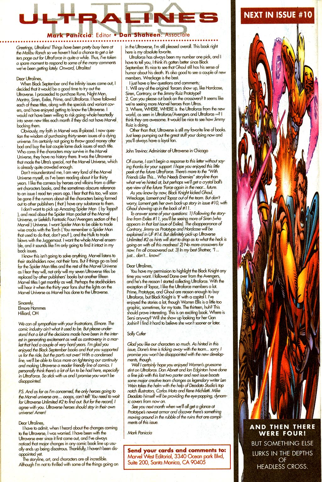 Read online UltraForce (1995) comic -  Issue #9 - 23