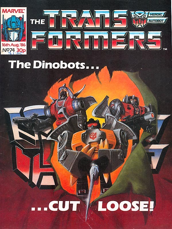The Transformers (UK) 74 Page 1