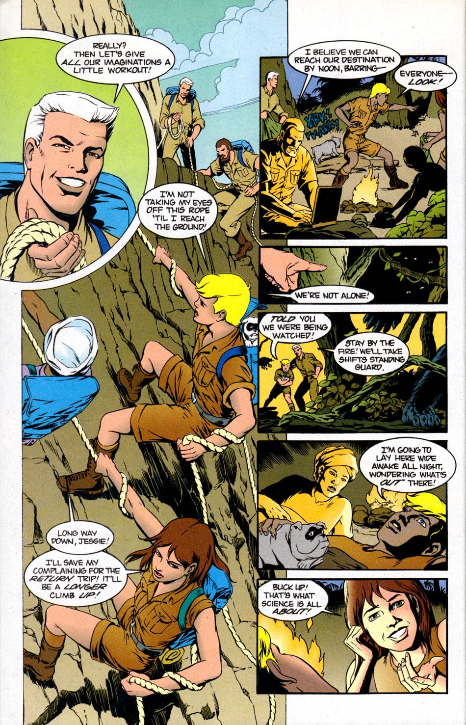 Read online The Real Adventures of Jonny Quest comic -  Issue #5 - 28