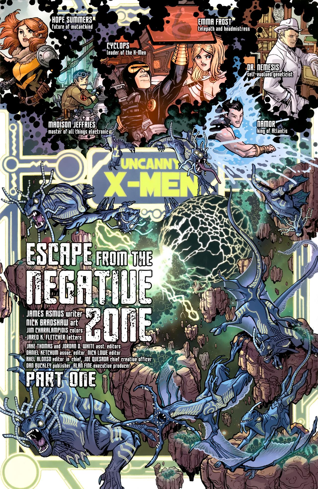 Read online Uncanny X-Men (1963) comic -  Issue # _Annual 3 (2011) - 2