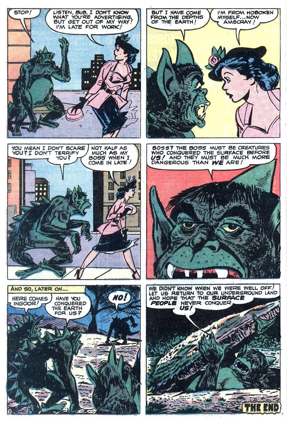 Read online Adventures into Weird Worlds comic -  Issue #12 - 4