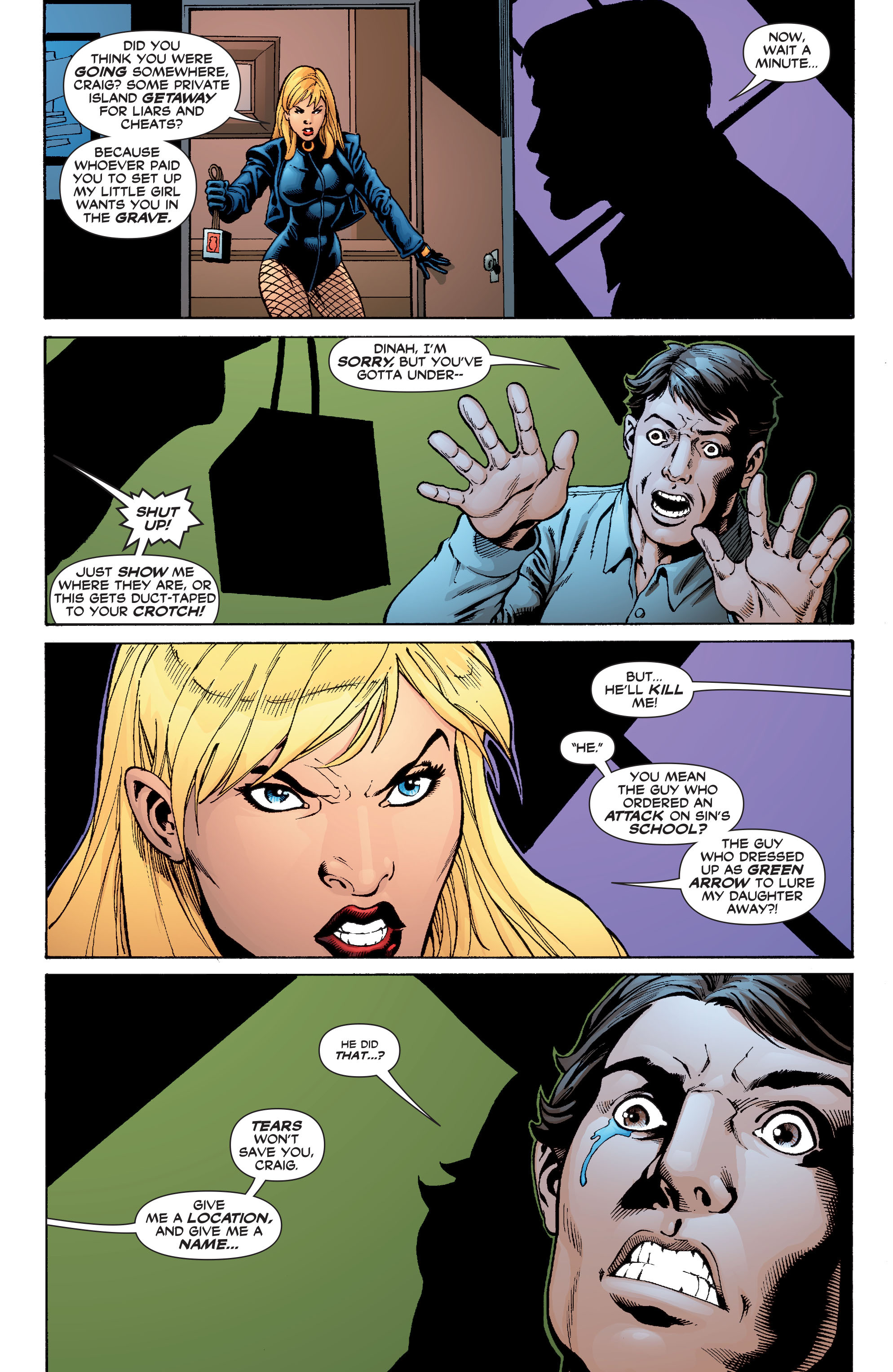 Read online Black Canary (2007) comic -  Issue #3 - 10