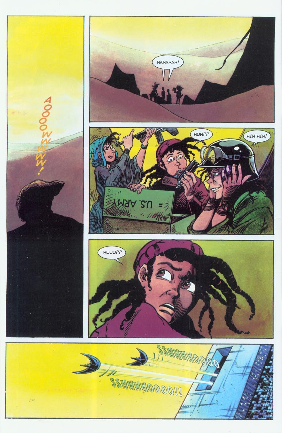 Read online Stargate comic -  Issue #3 - 8