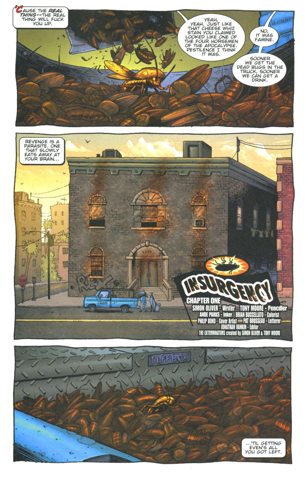 Read online The Exterminators comic -  Issue #6 - 5