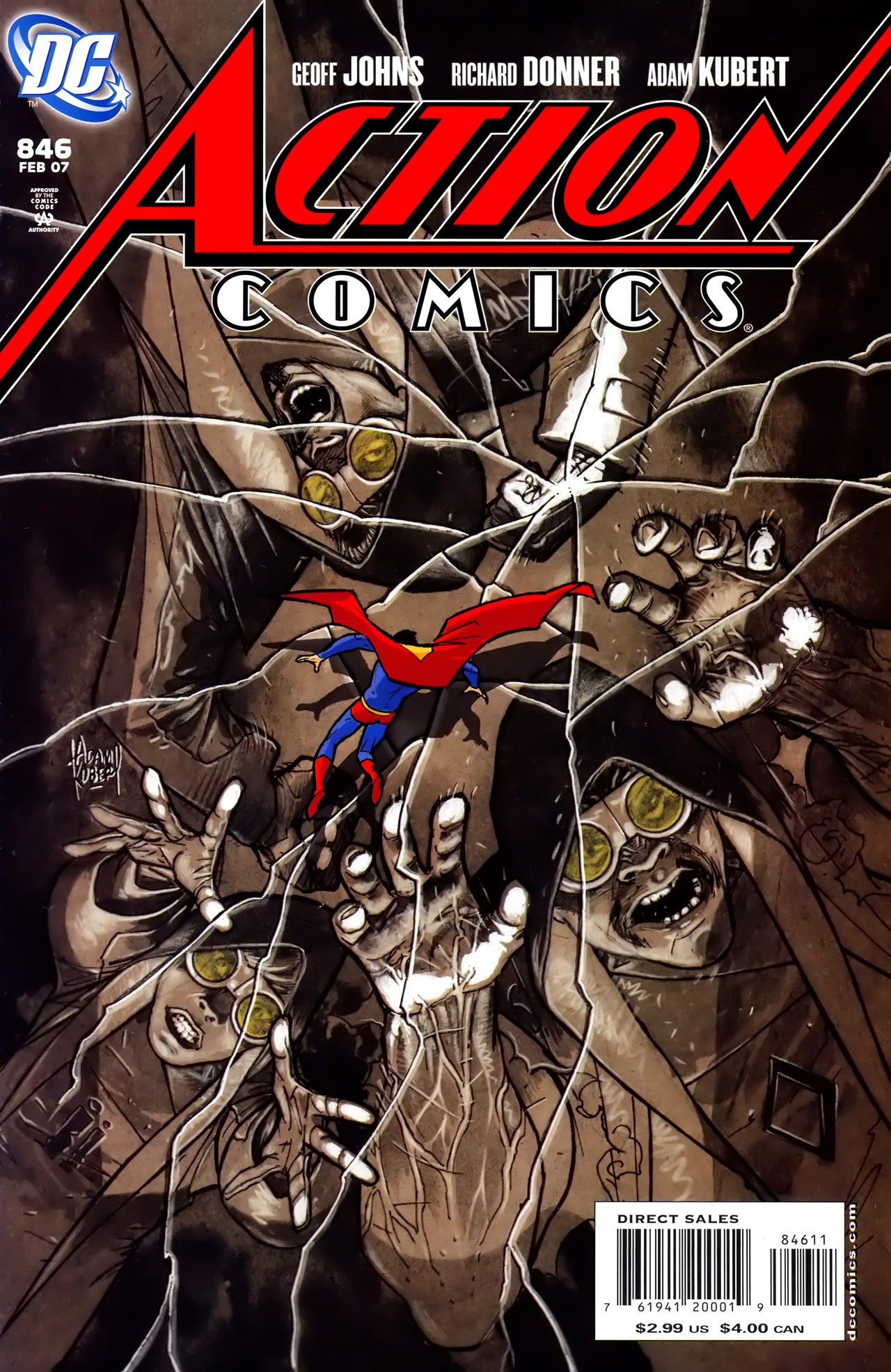 Read online Action Comics (1938) comic -  Issue #846 - 1