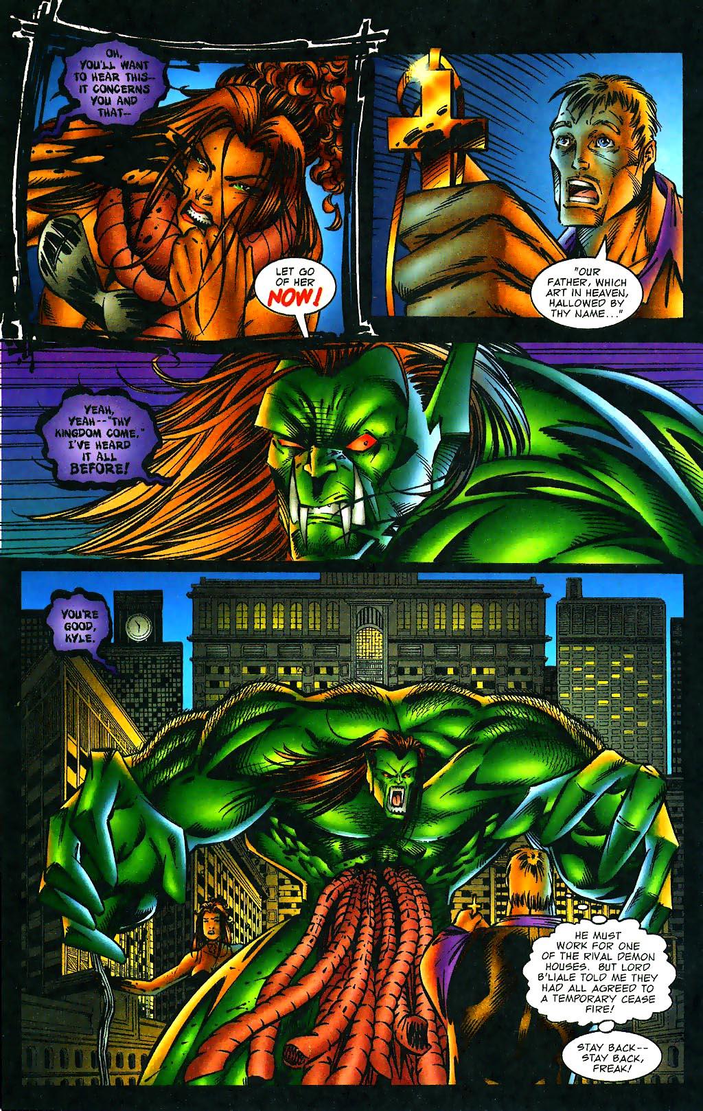 Read online Avengelyne (1996) comic -  Issue #1 - 25