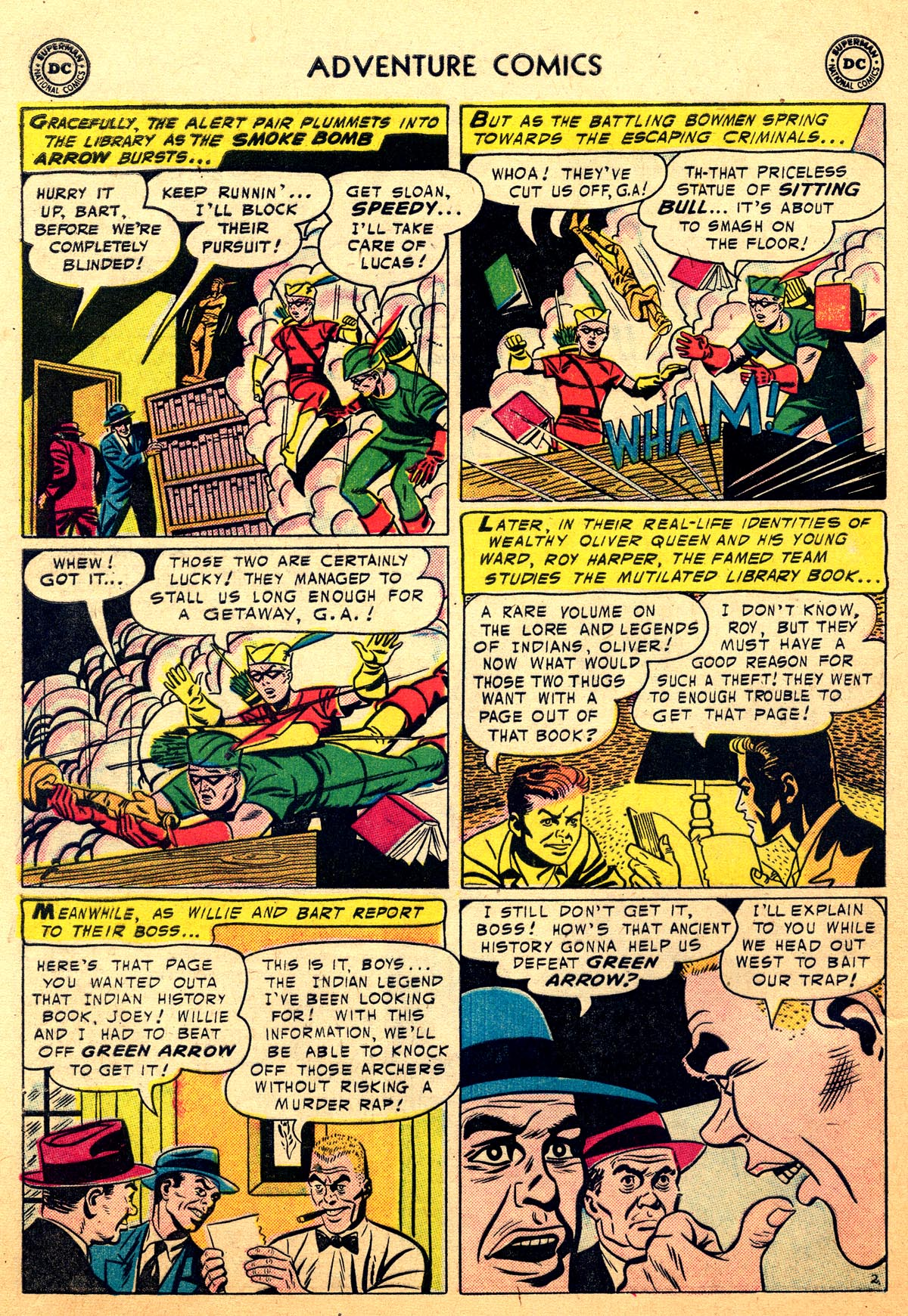 Read online Adventure Comics (1938) comic -  Issue #216 - 28