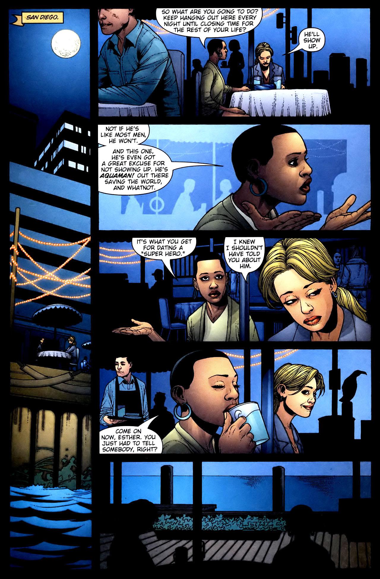 Read online Aquaman (2003) comic -  Issue #34 - 22