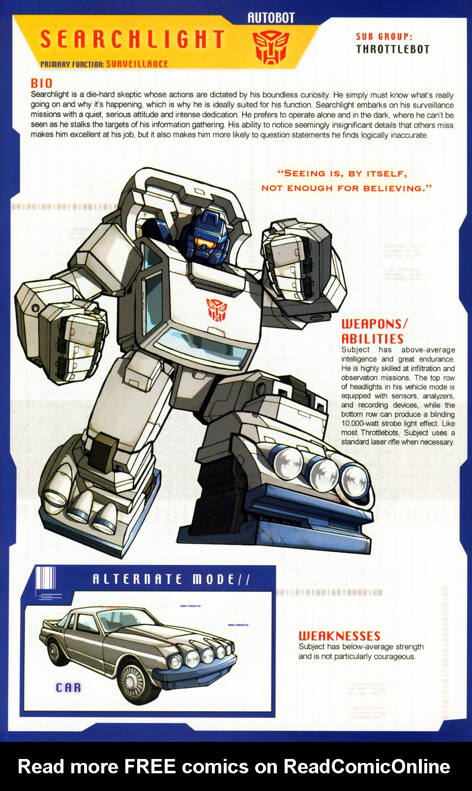 Read online Transformers: More than Meets the Eye comic -  Issue #5 - 59